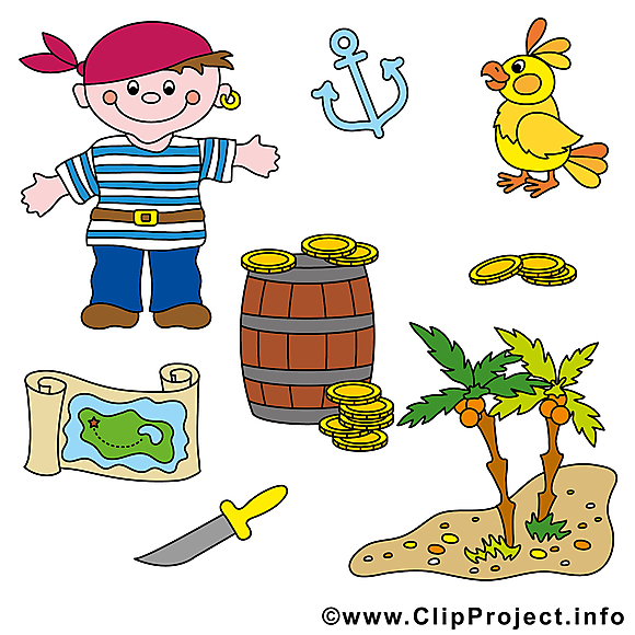 Pirates images - Perroquet dessins gratuits