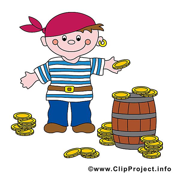 Tonneau cliparts gratuis - Pirate images gratuites