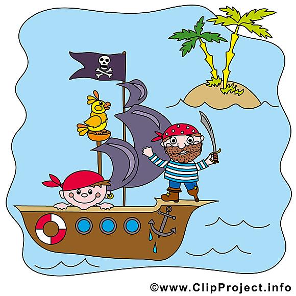 Vaisseau image gratuite - Pirates cliparts