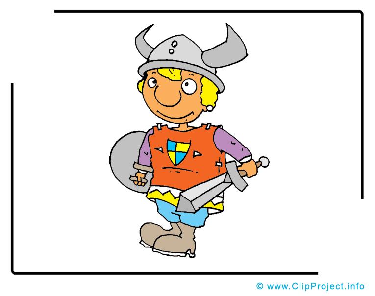Viking clip arts gratuits – Conte de fées illustrations
