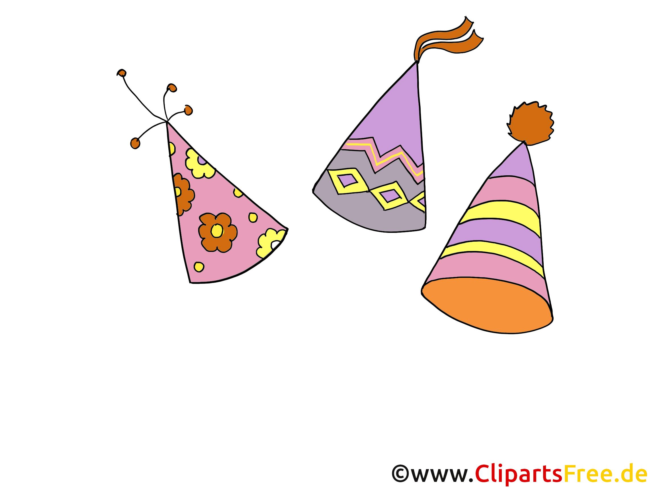 Chapeau de fête image - Soirée images cliparts