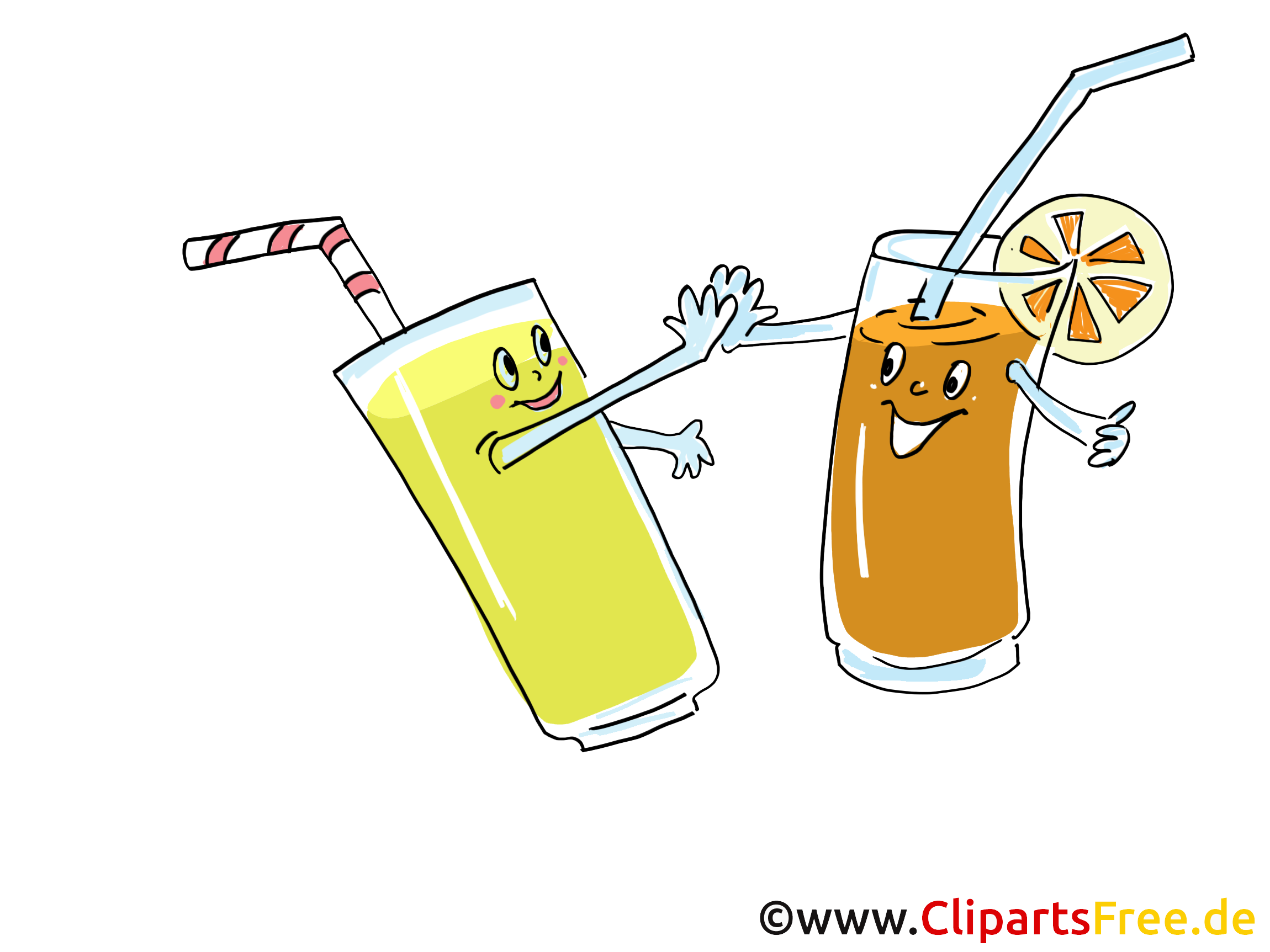 Cocktails illustration à télécharger gratuite