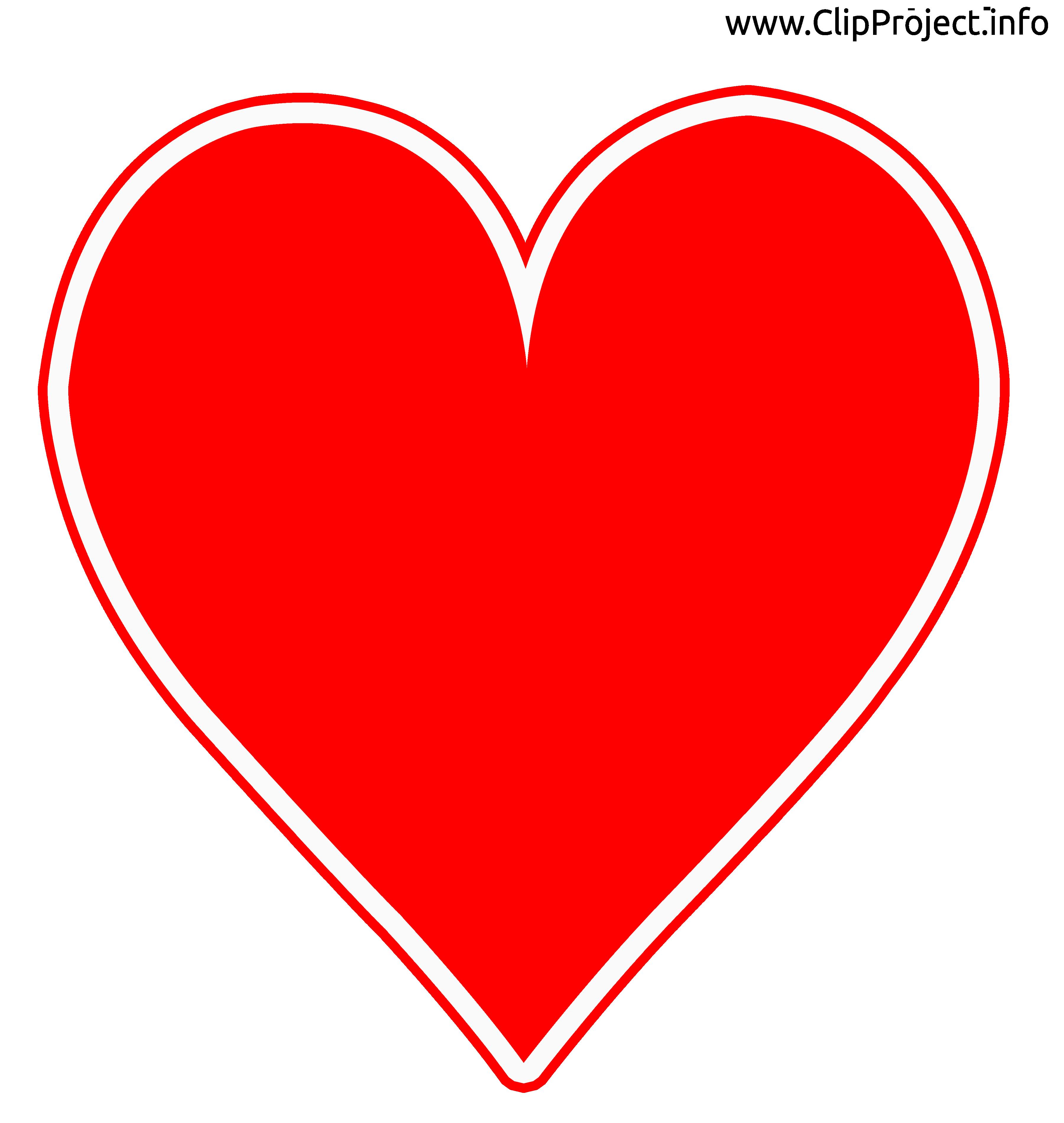 Coeur images - Cartes clip art gratuit