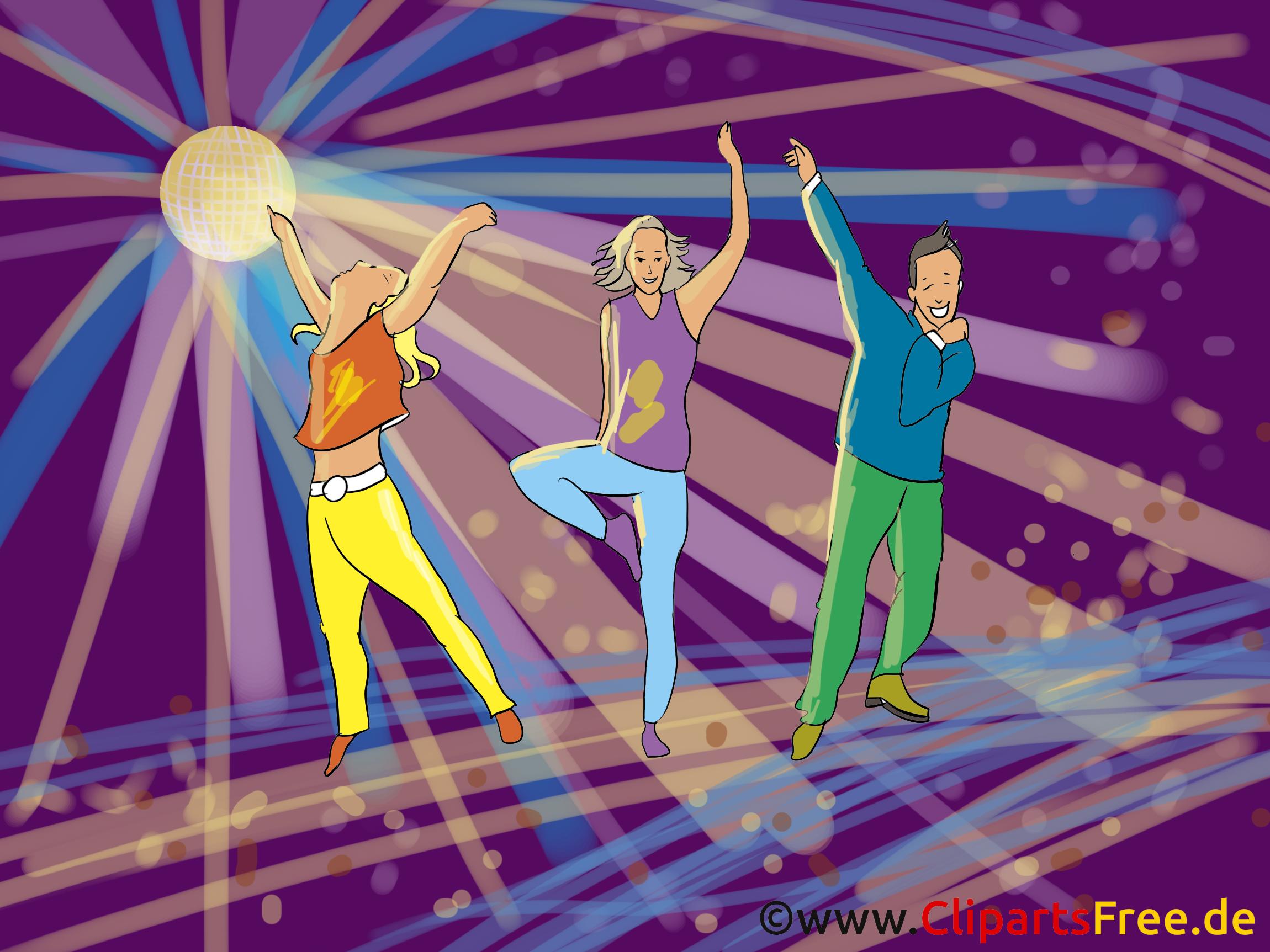 Danse clipart gratuit - Disco images
