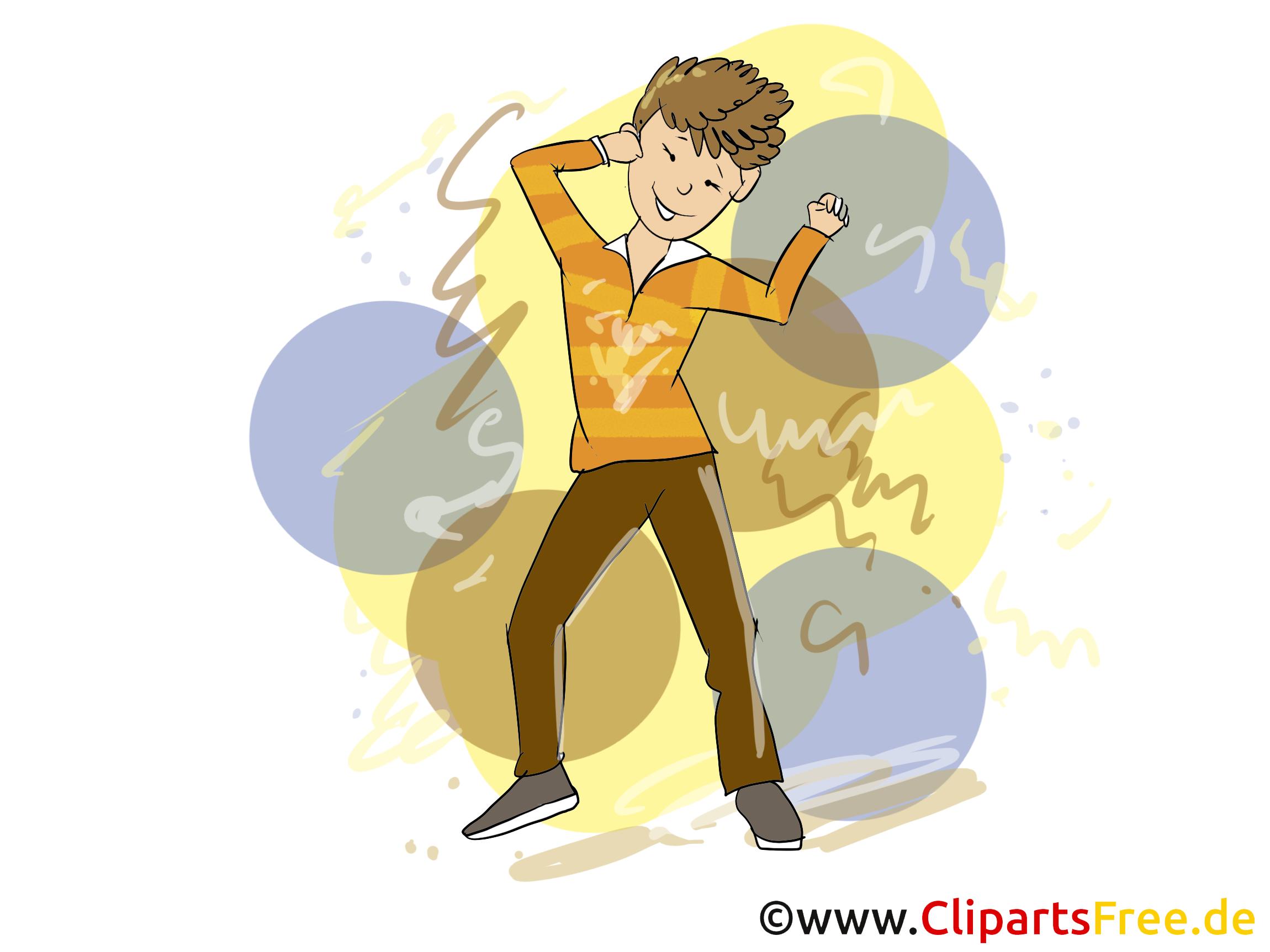 Danse dessins gratuits - Soirée clipart gratuit