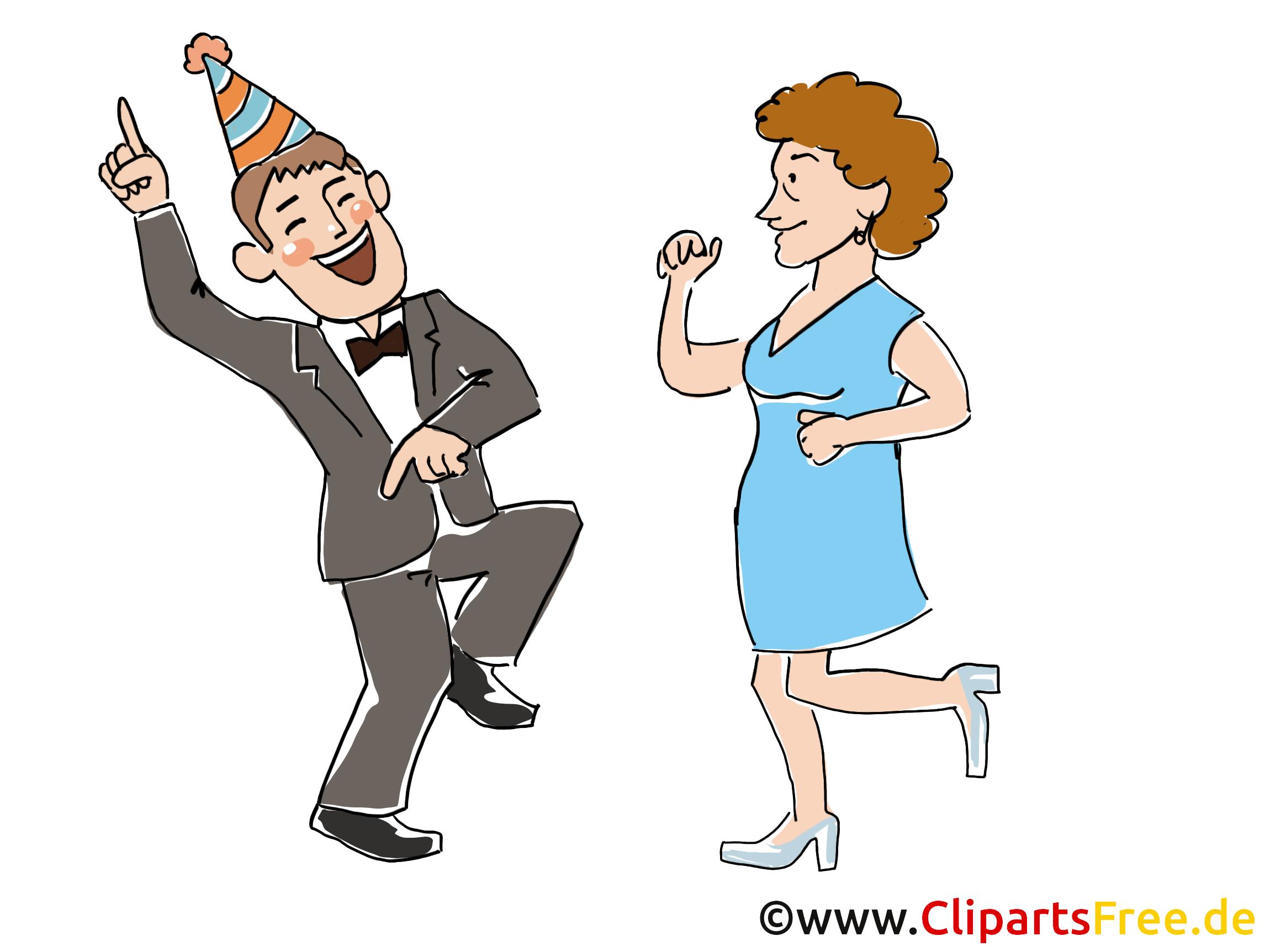 Fête images - Danse dessins gratuits