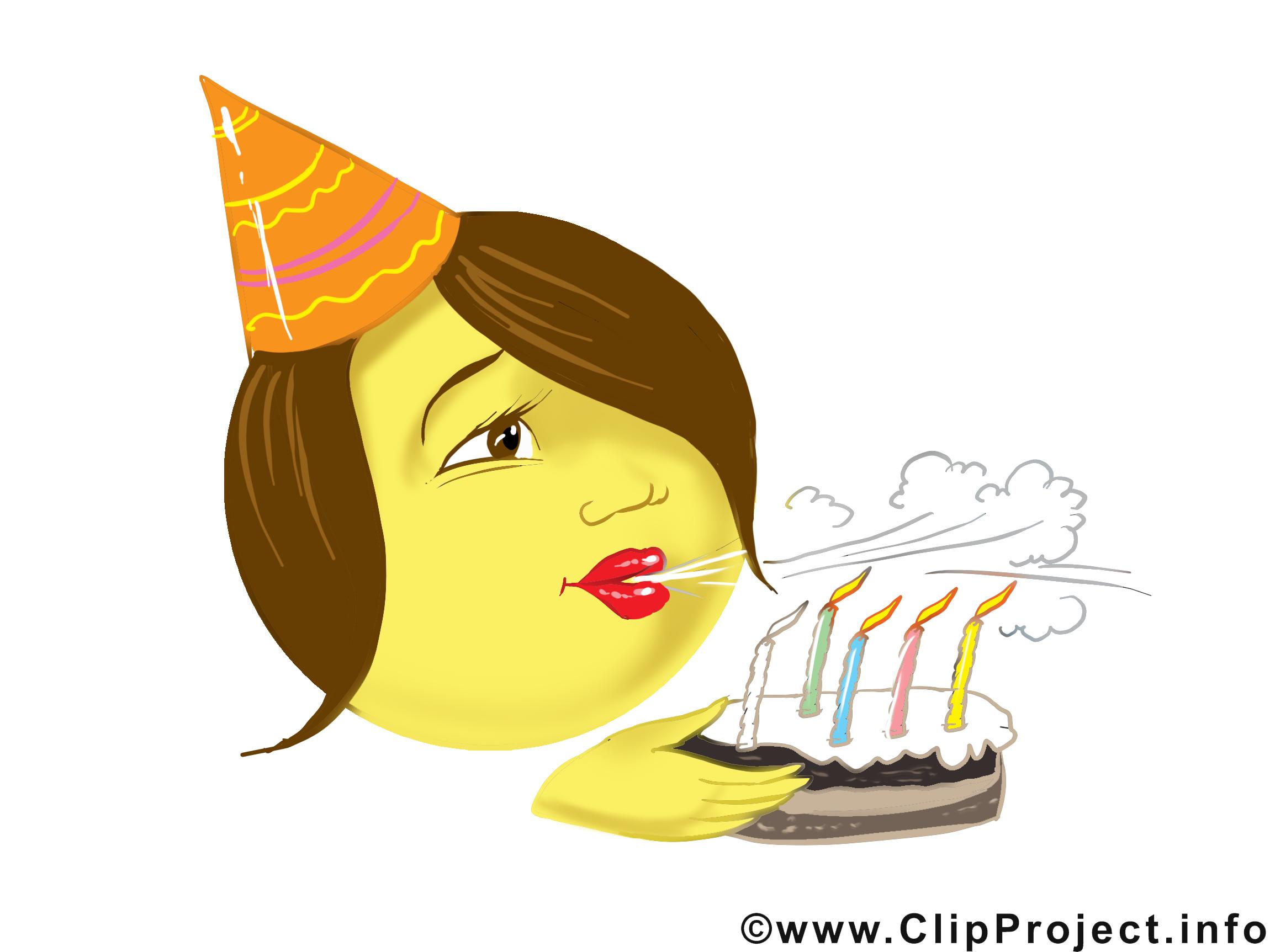 Gâteau clip arts gratuits - Fête illustrations