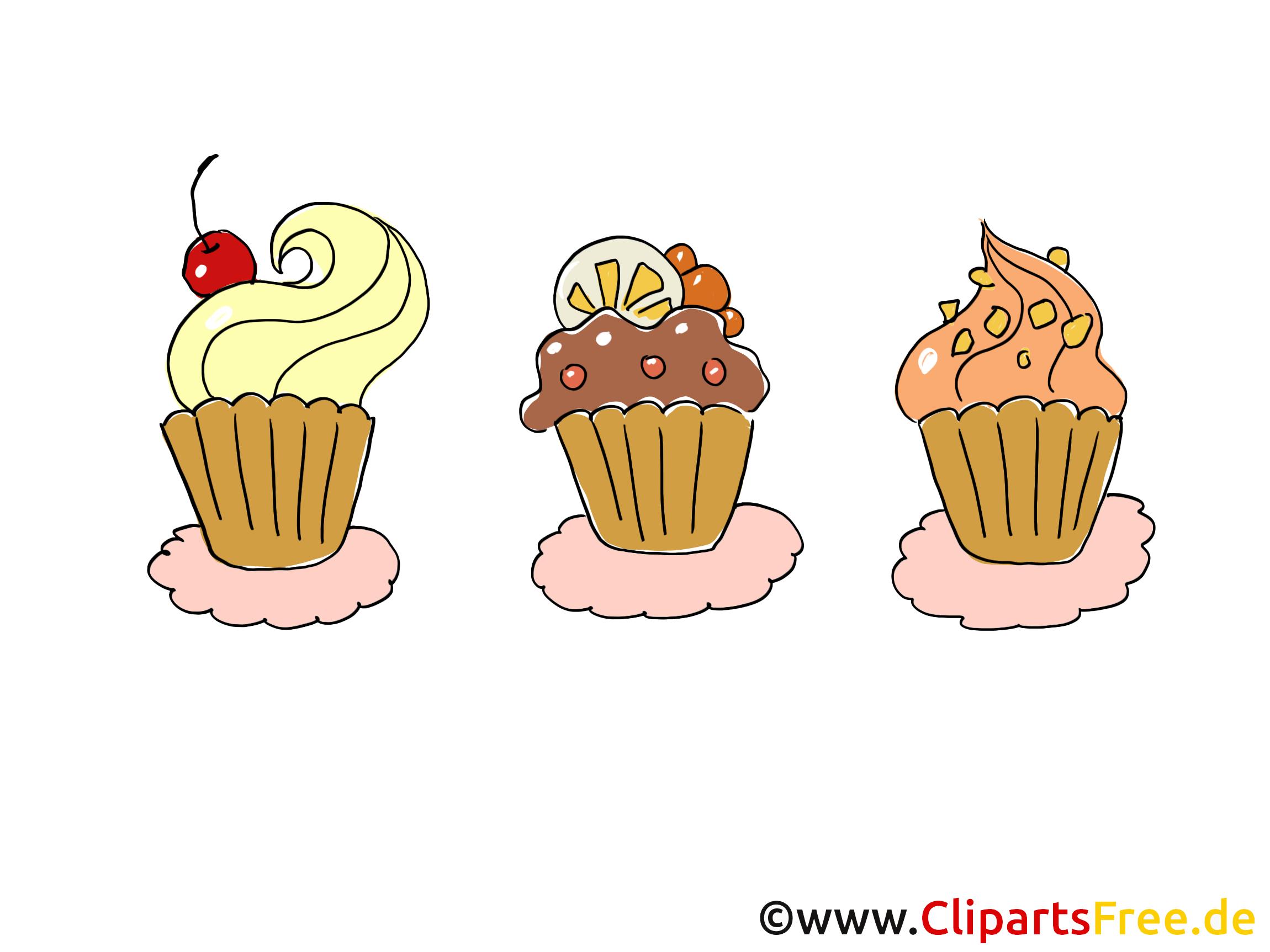Gâteaux dessin gratuit - Soirée clip arts gratuits