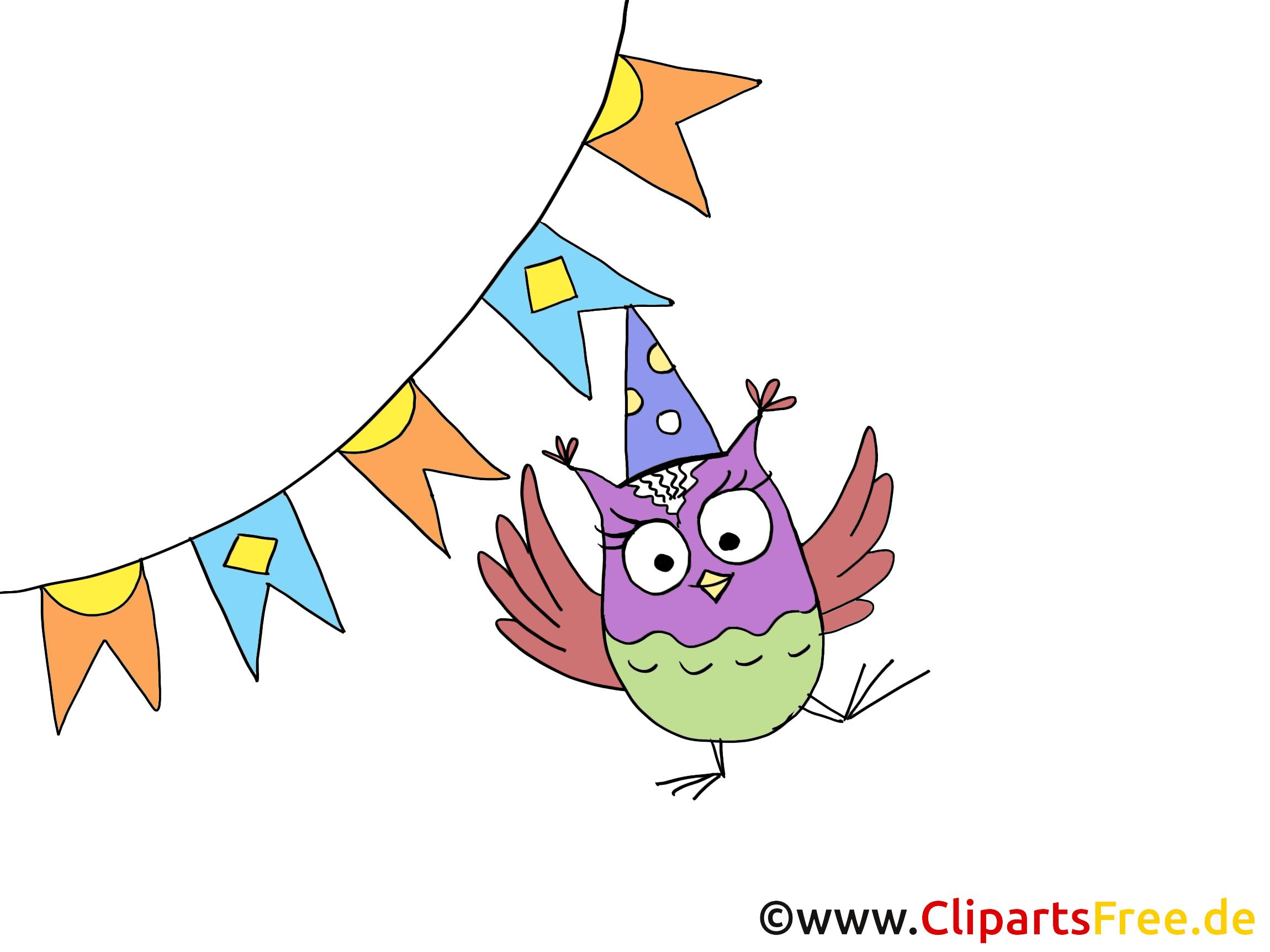 Hibou illustration - Fête images gratuites