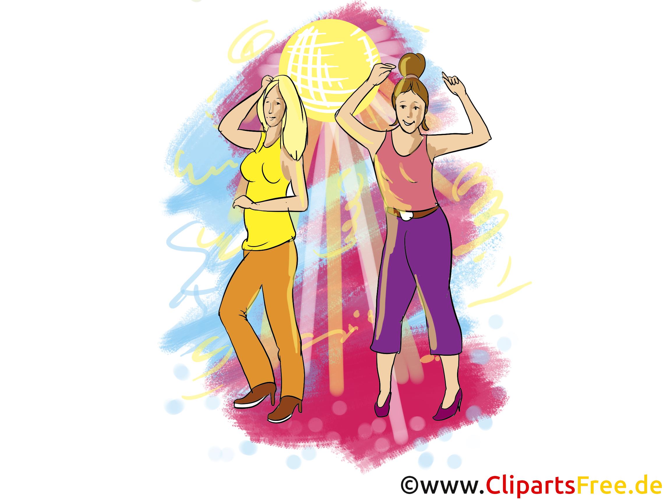 Image à télécharger danse - Disco clipart