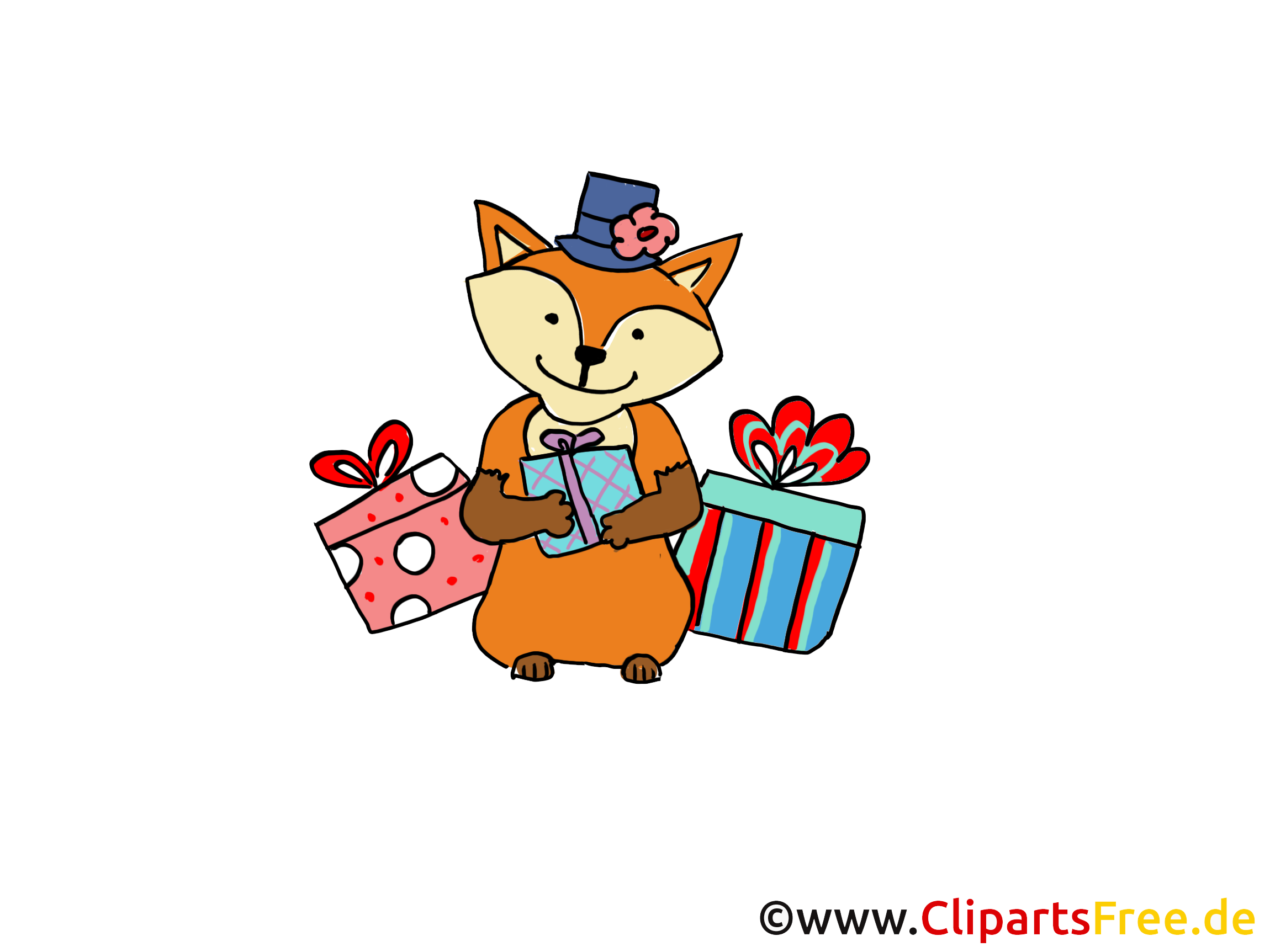 Renard dessin gratuit - Cadeau image gratuite