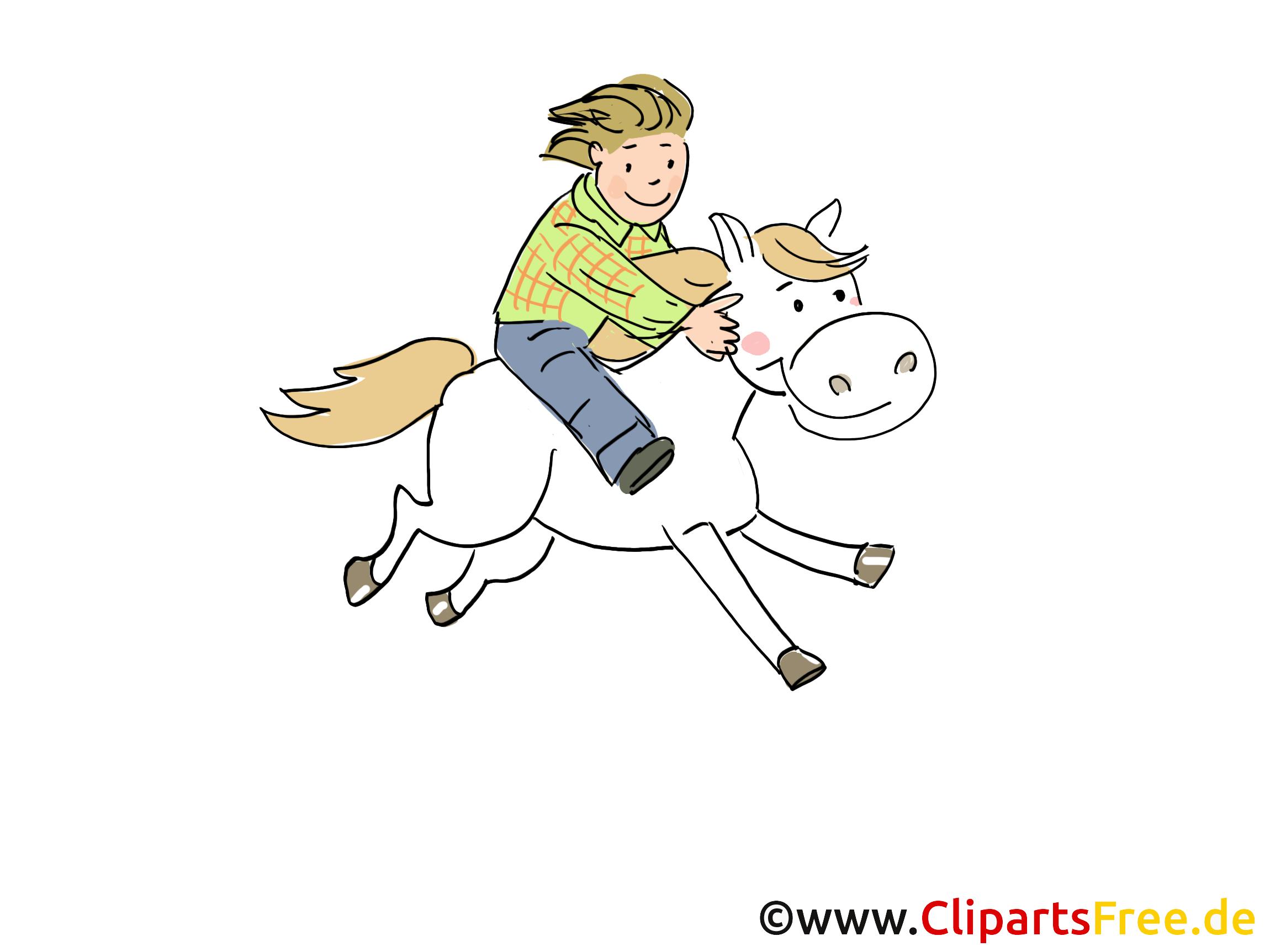 Cheval dessin gratuit – Ferme image
