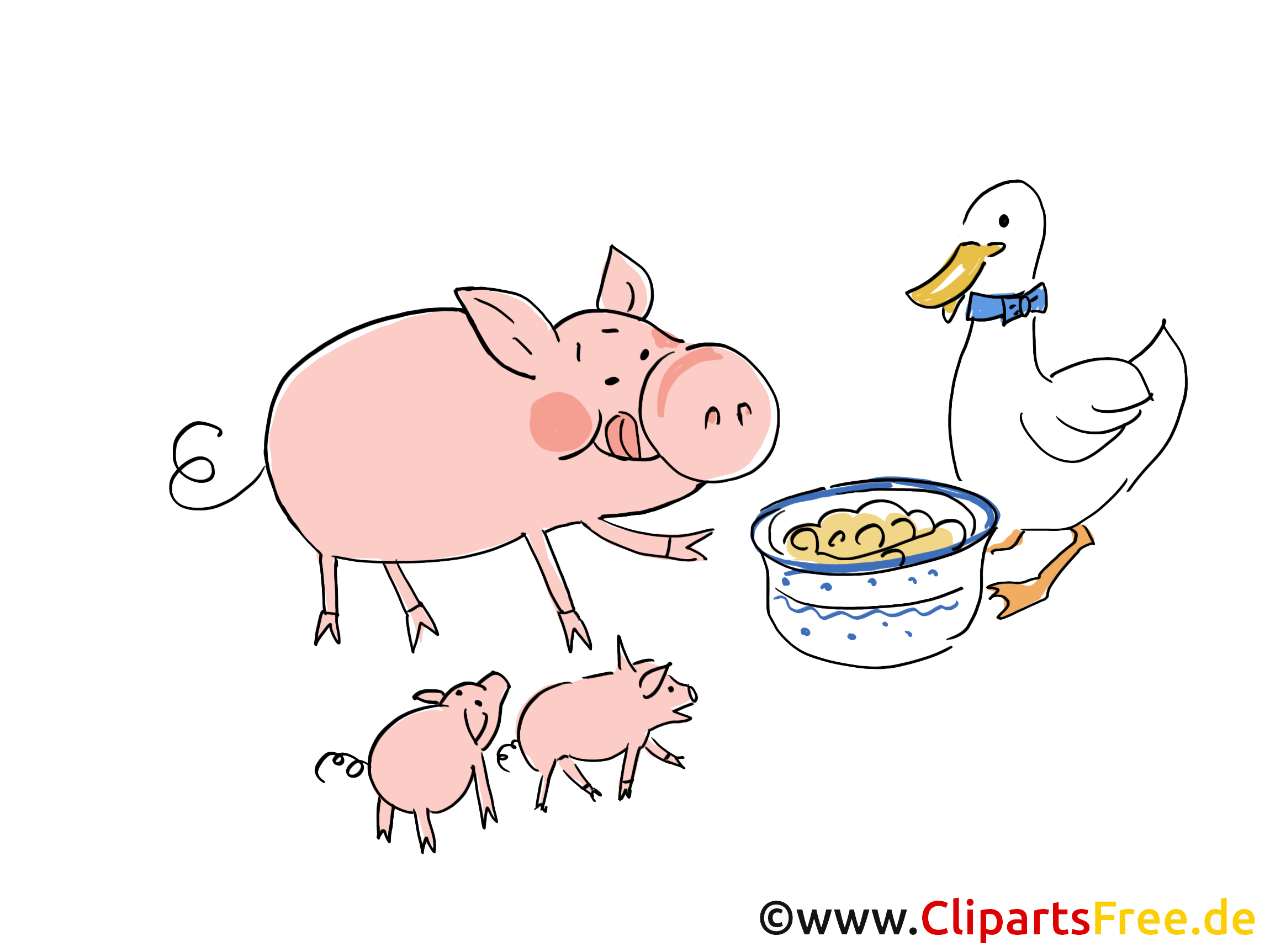 Cochon images – Ferme dessins gratuits