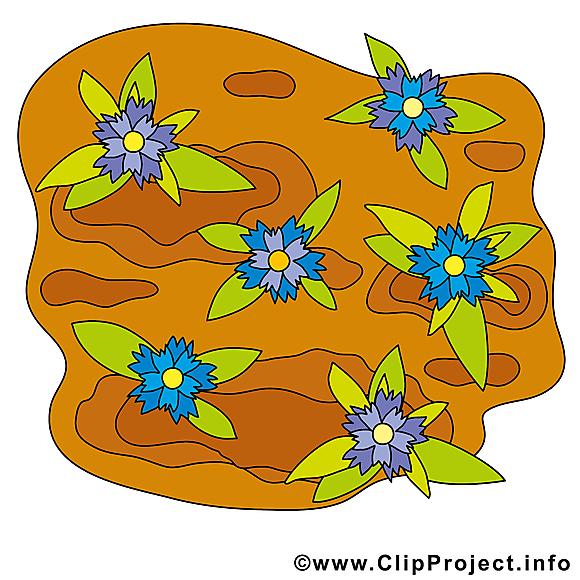 Fleurs illustration gratuite – Ferme clipart