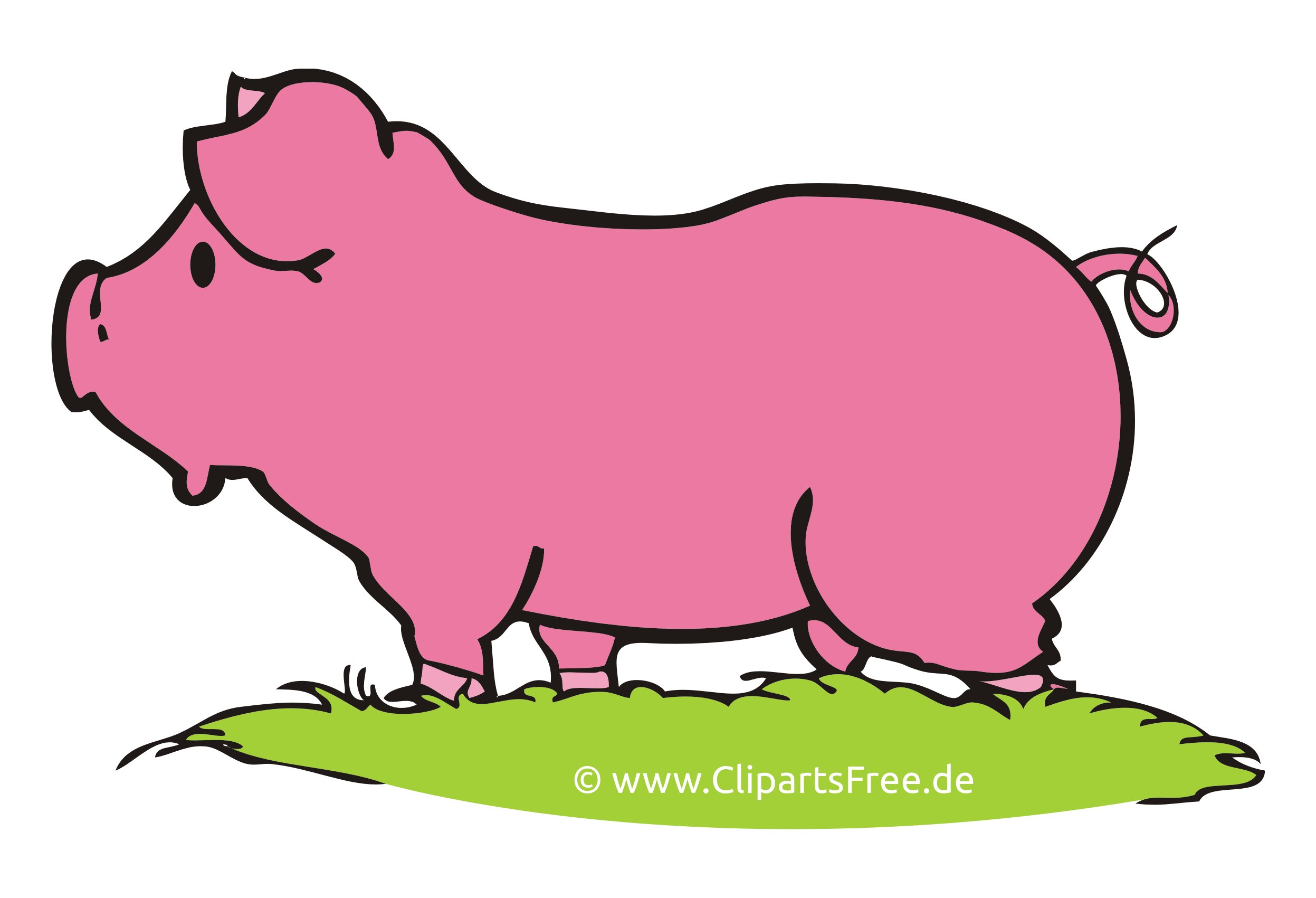 Images gratuites cochons – Ferme clipart