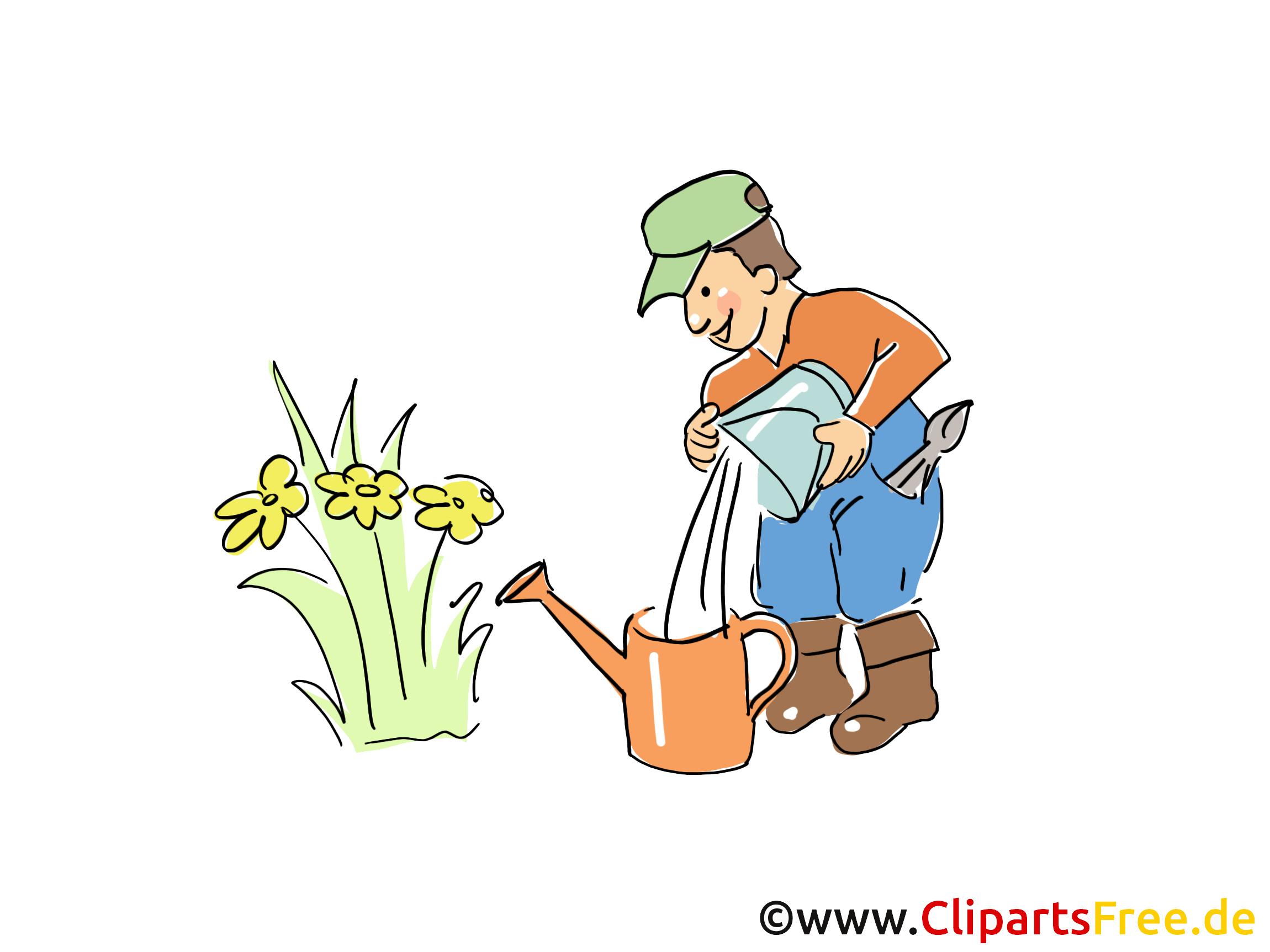 Jardinier clip art gratuit – Ferme images