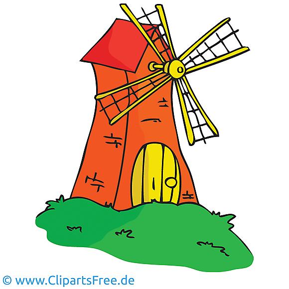 Moulin images gratuites – Ferme clipart