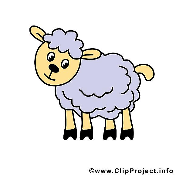 Mouton image à télécharger – Ferme clipart