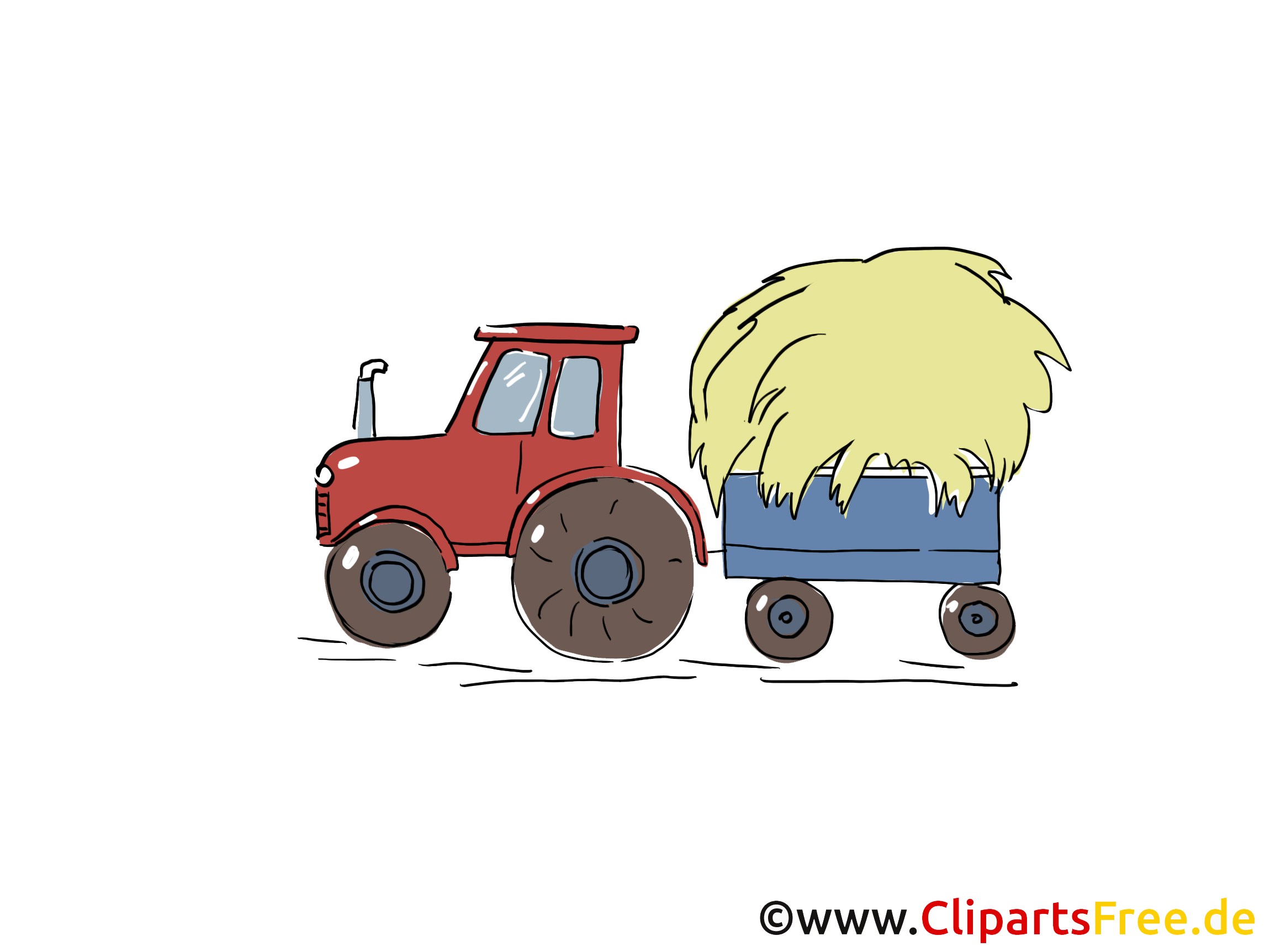 Tracteur illustration – Ferme images