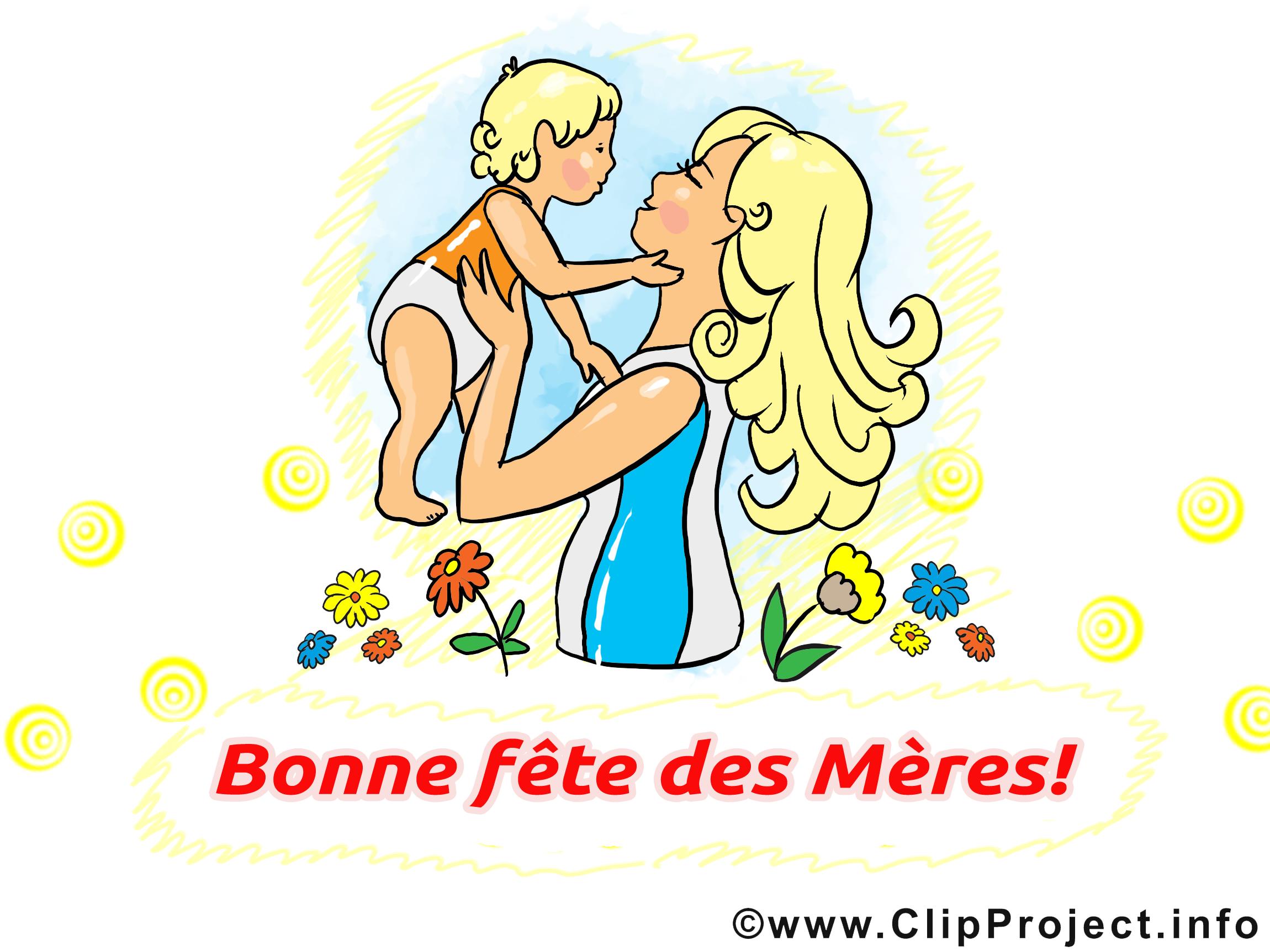 Bébé cliparts gratuis – Fête des Mères images