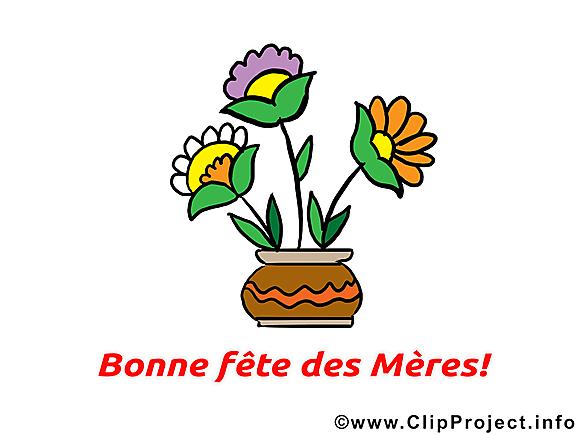 Bonne fête des Mères dessin  clip arts gratuits