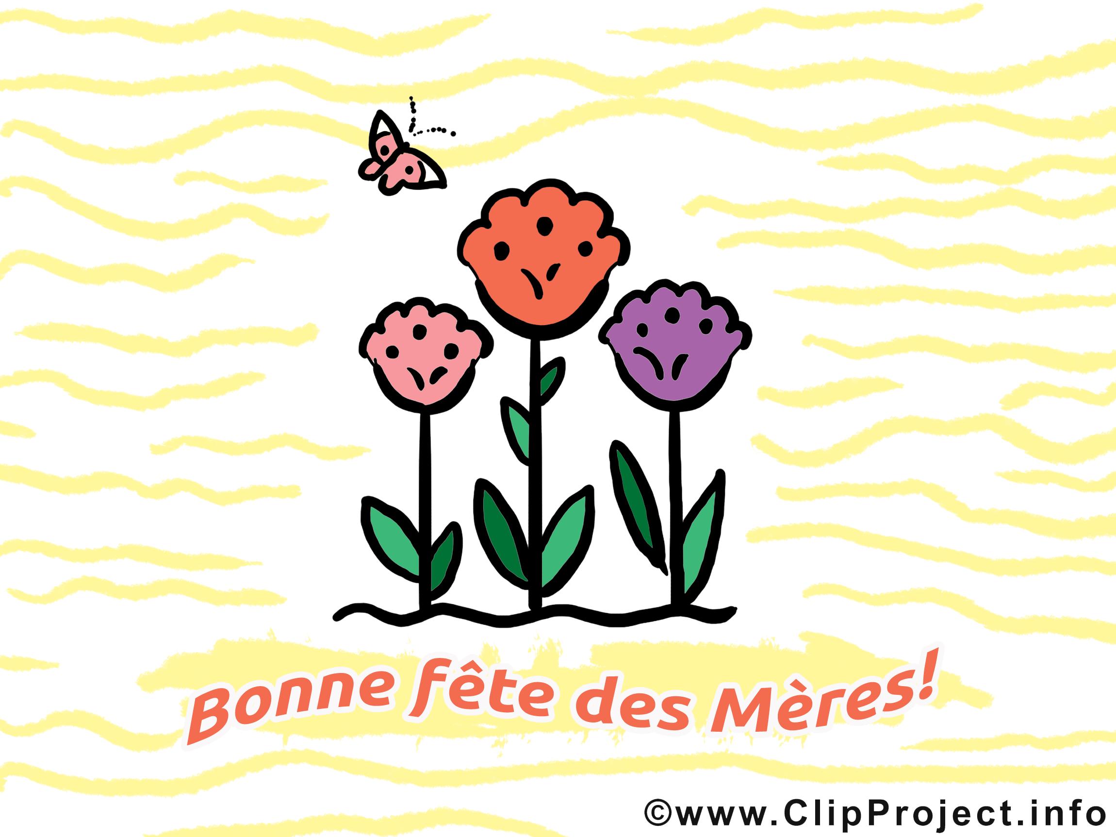 Fête des Mères illustration à télécharger gratuite