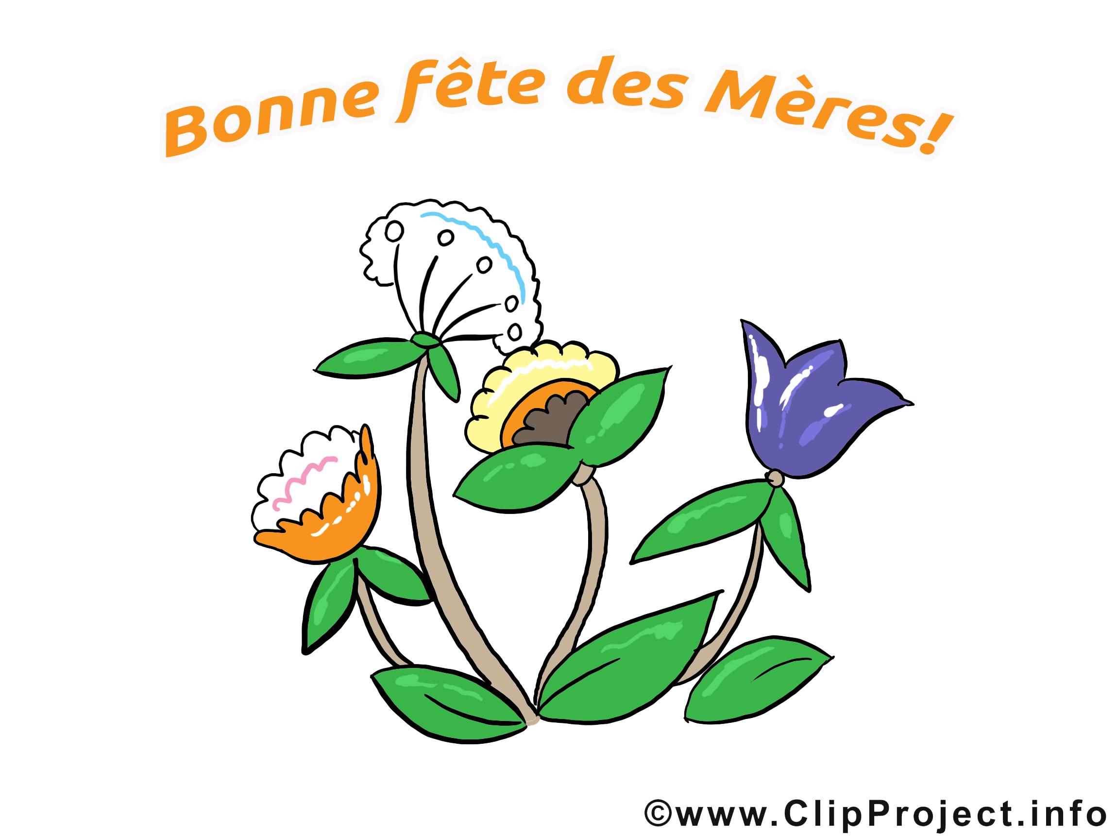 Fleurs image – Fête des Mères images cliparts