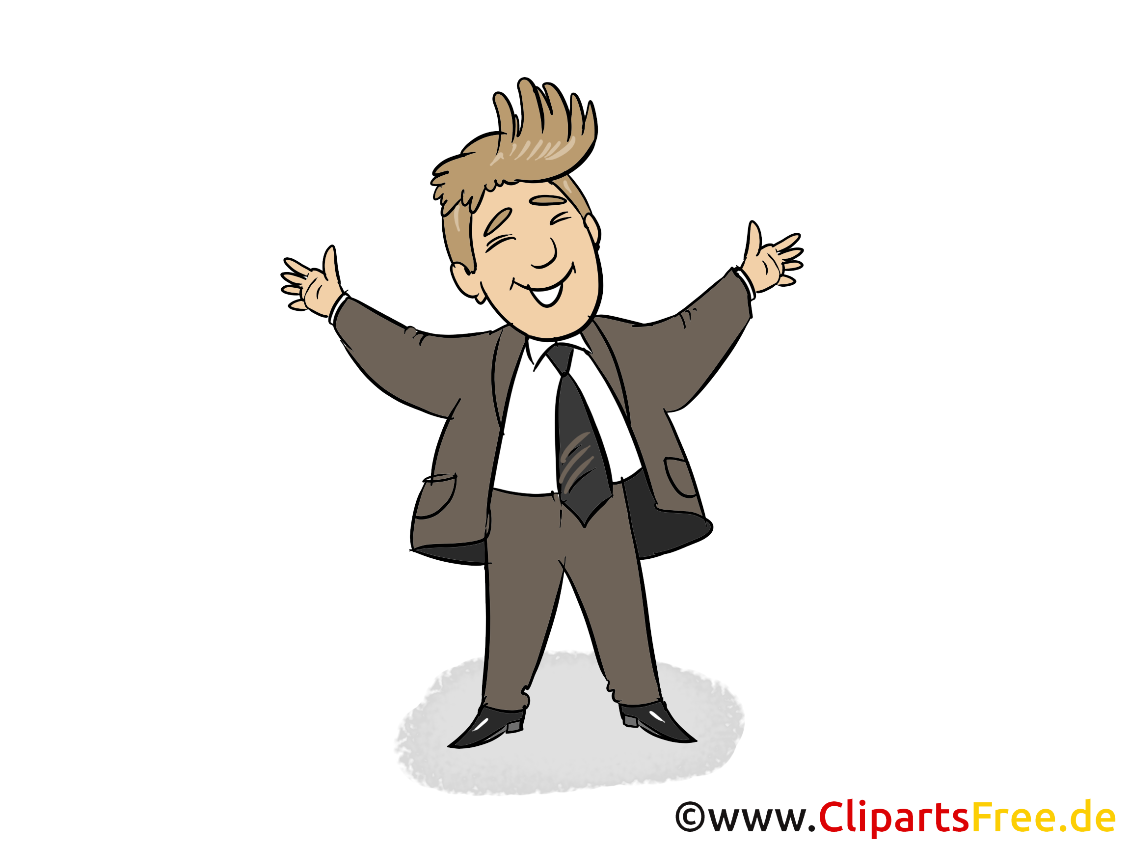 Chef dessin – Finances cliparts à télécharger