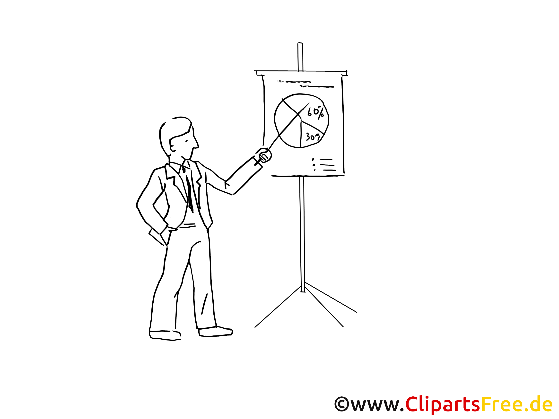 Dessins à colorier graphique – Finances clipart