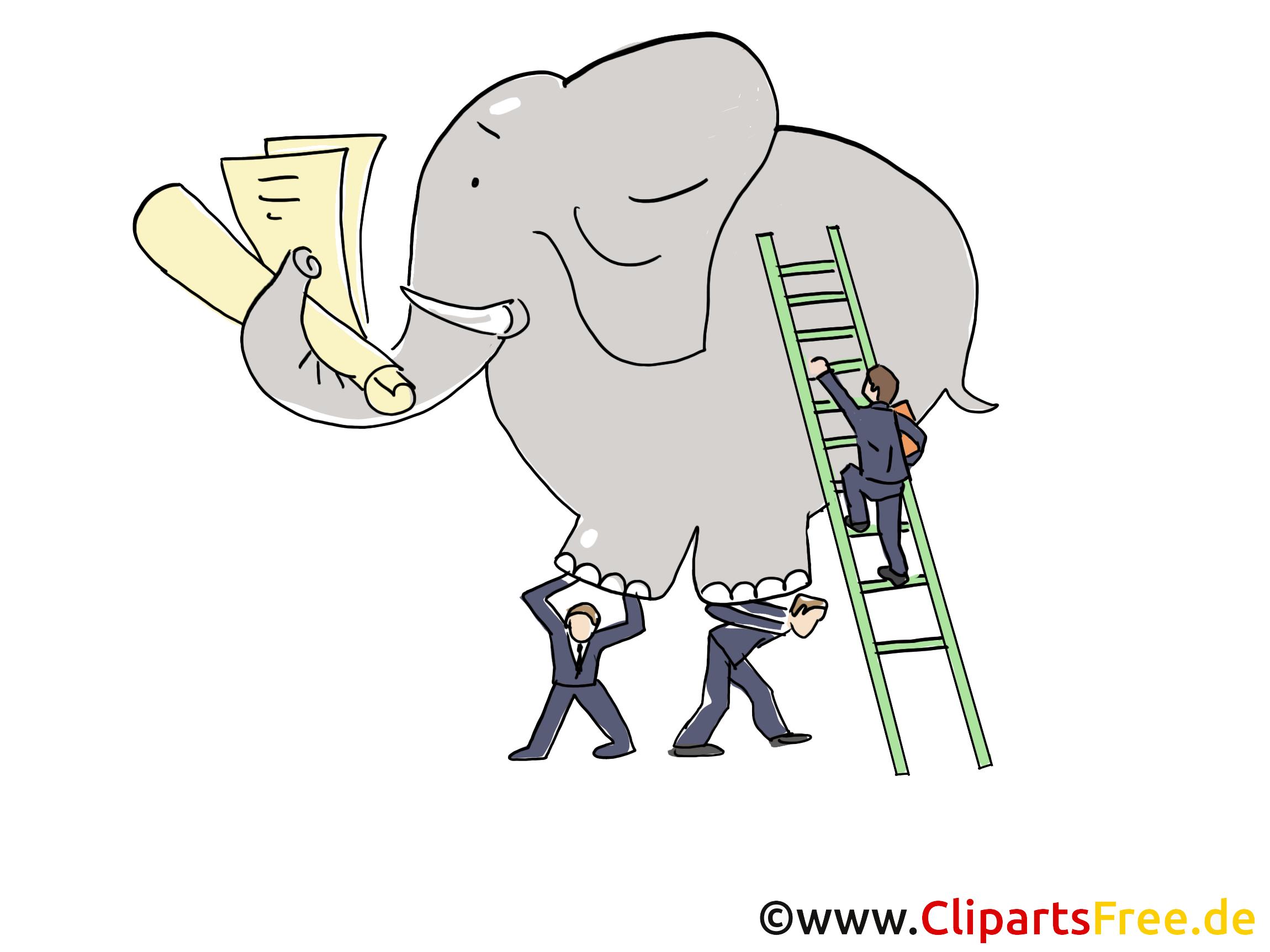 Éléphant clip arts gratuits – Finances illustrations