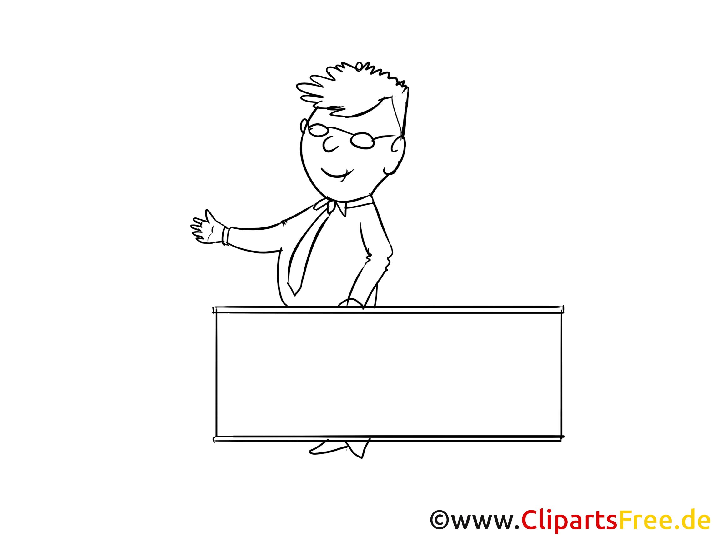 Lecteur dessin à imprimer – Finances clip arts gratuits