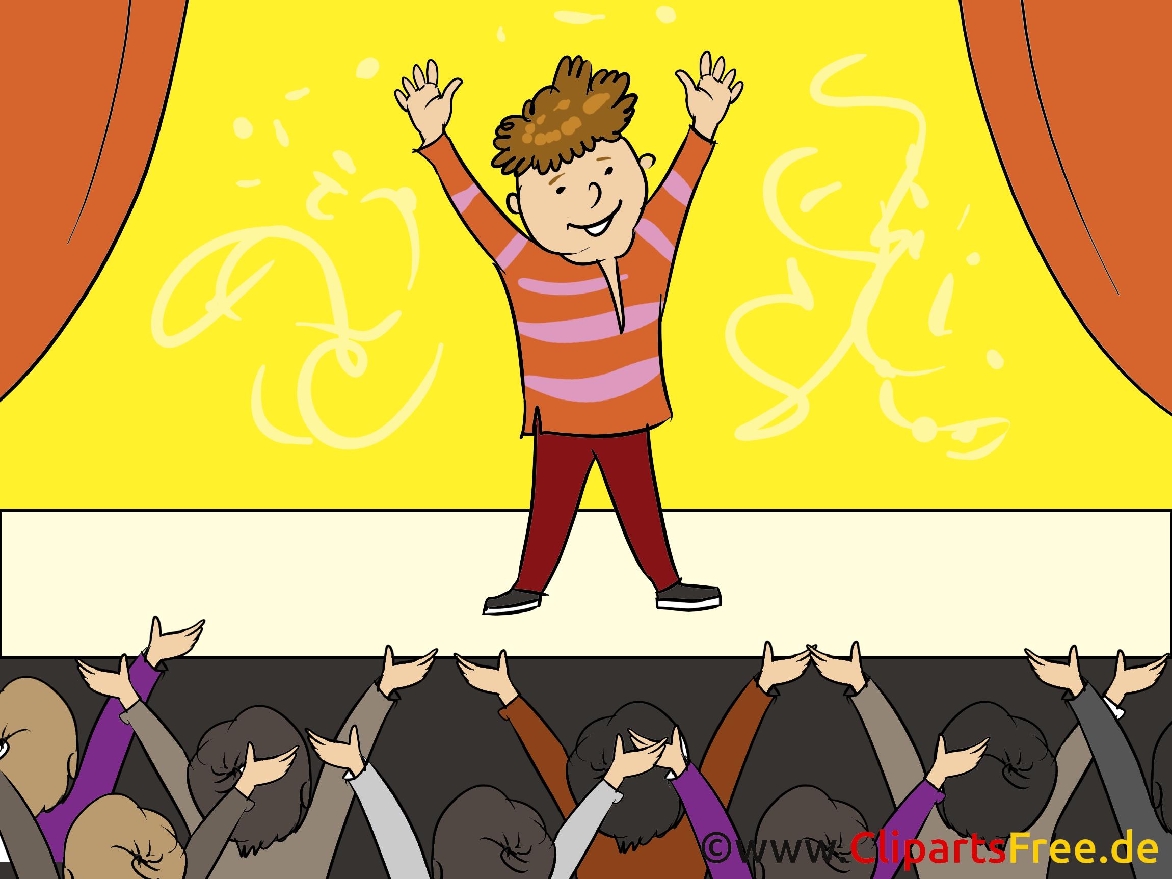 Présentateur illustration gratuite – Finances clipart