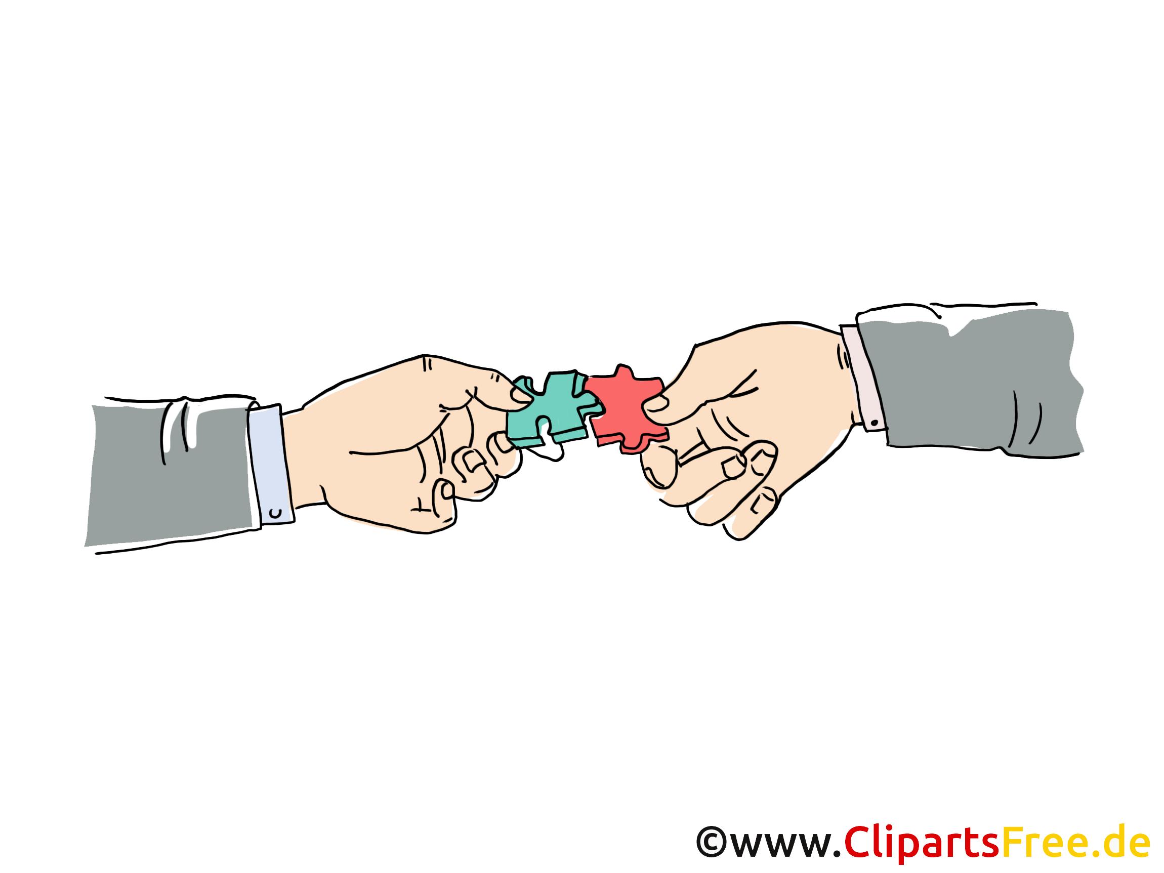 Puzzle image à télécharger – Finances clipart