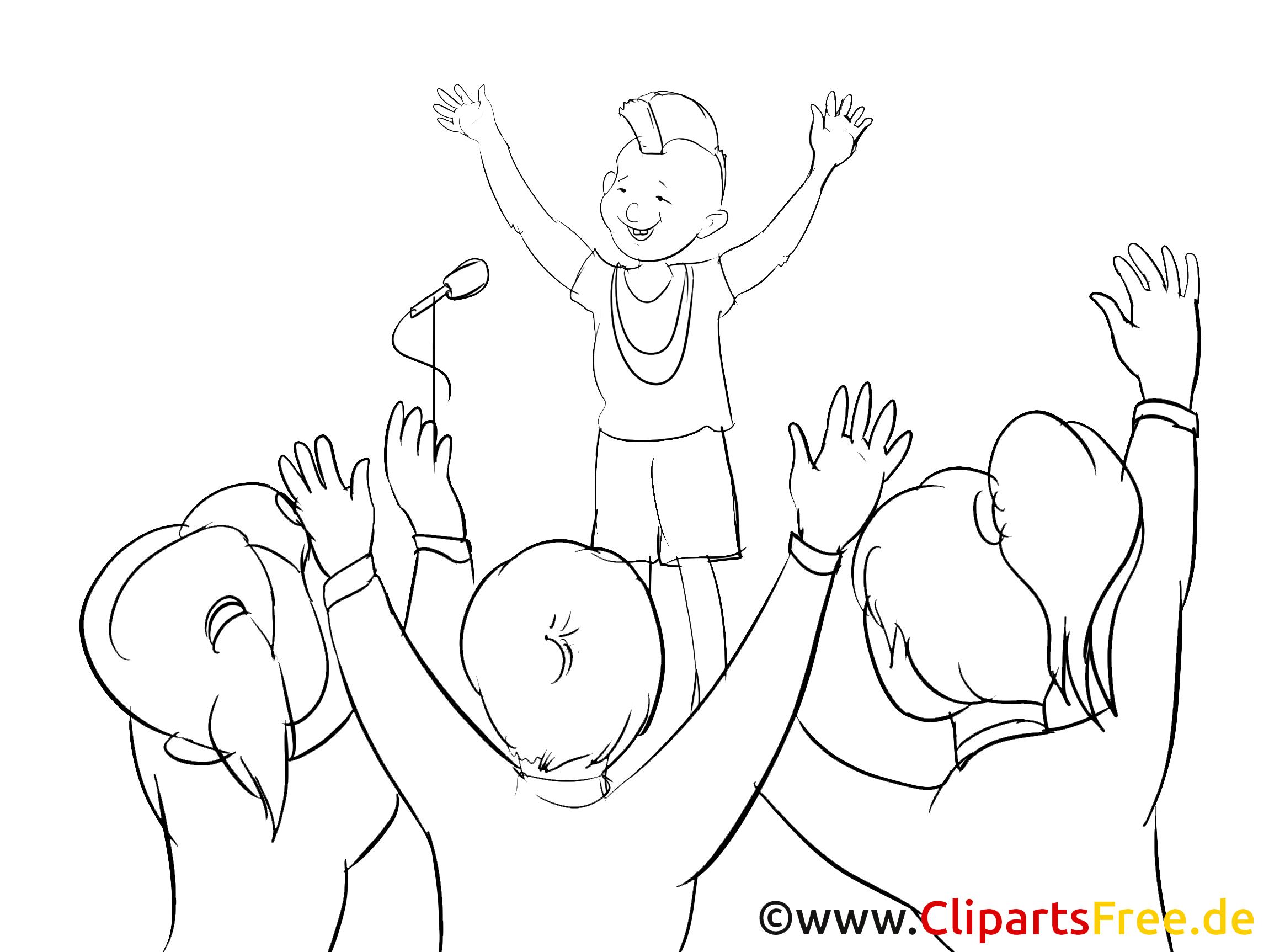 Seminaire dessin à colorier – Finances cliparts à télécharger