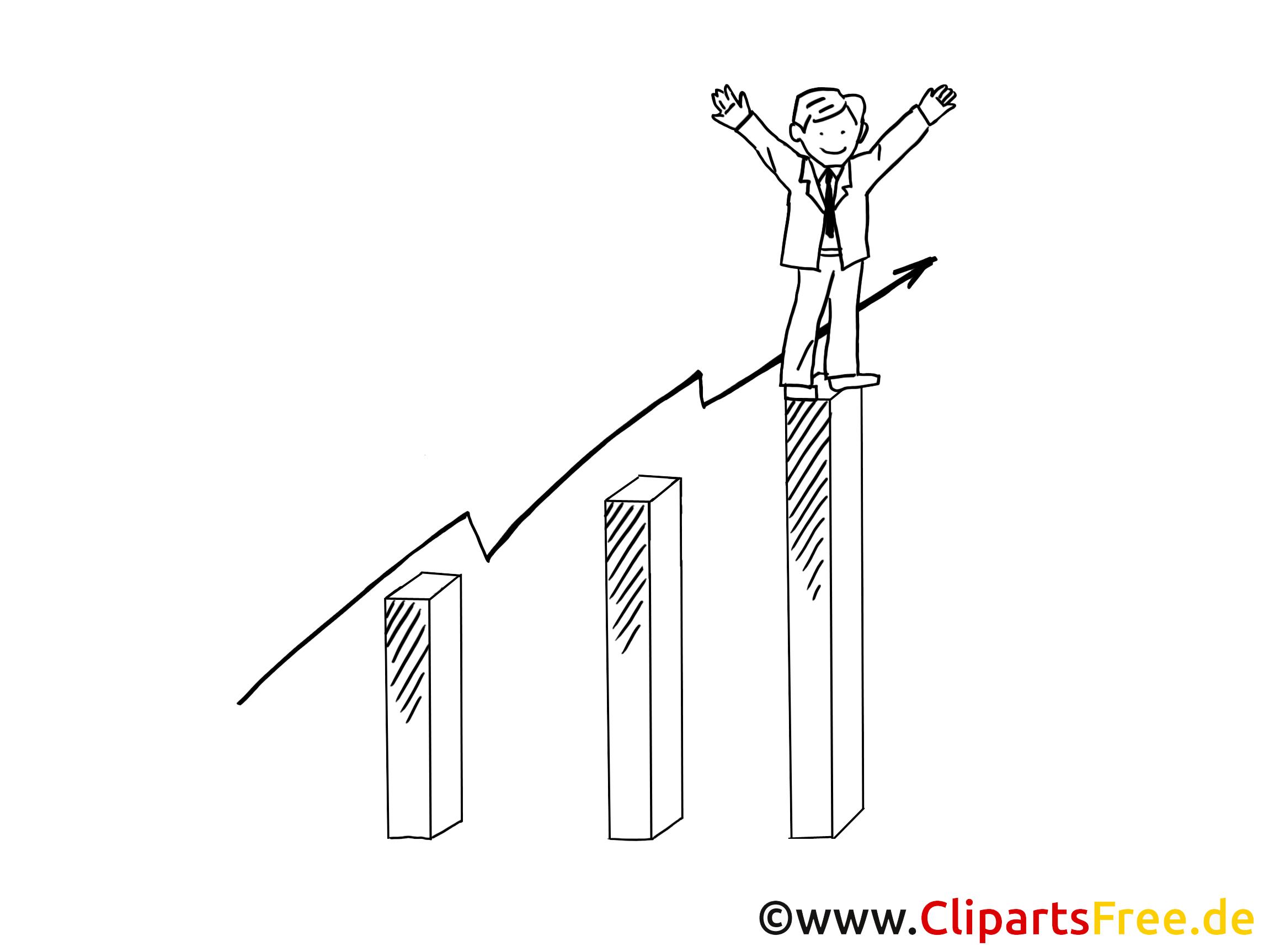 Ventes illustration à colorier – Finances clipart