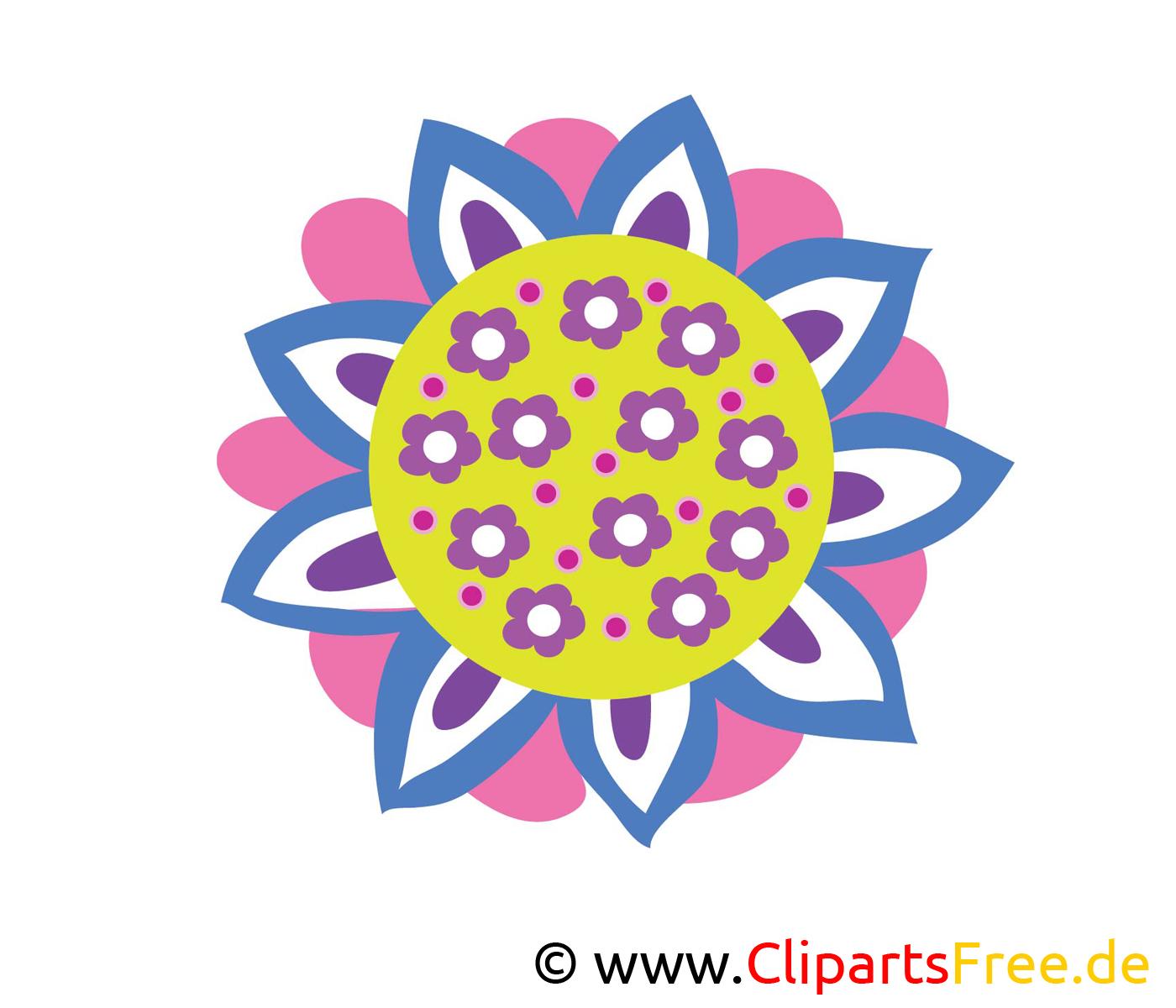 Belle fleur clipart – Fleurs dessins gratuits