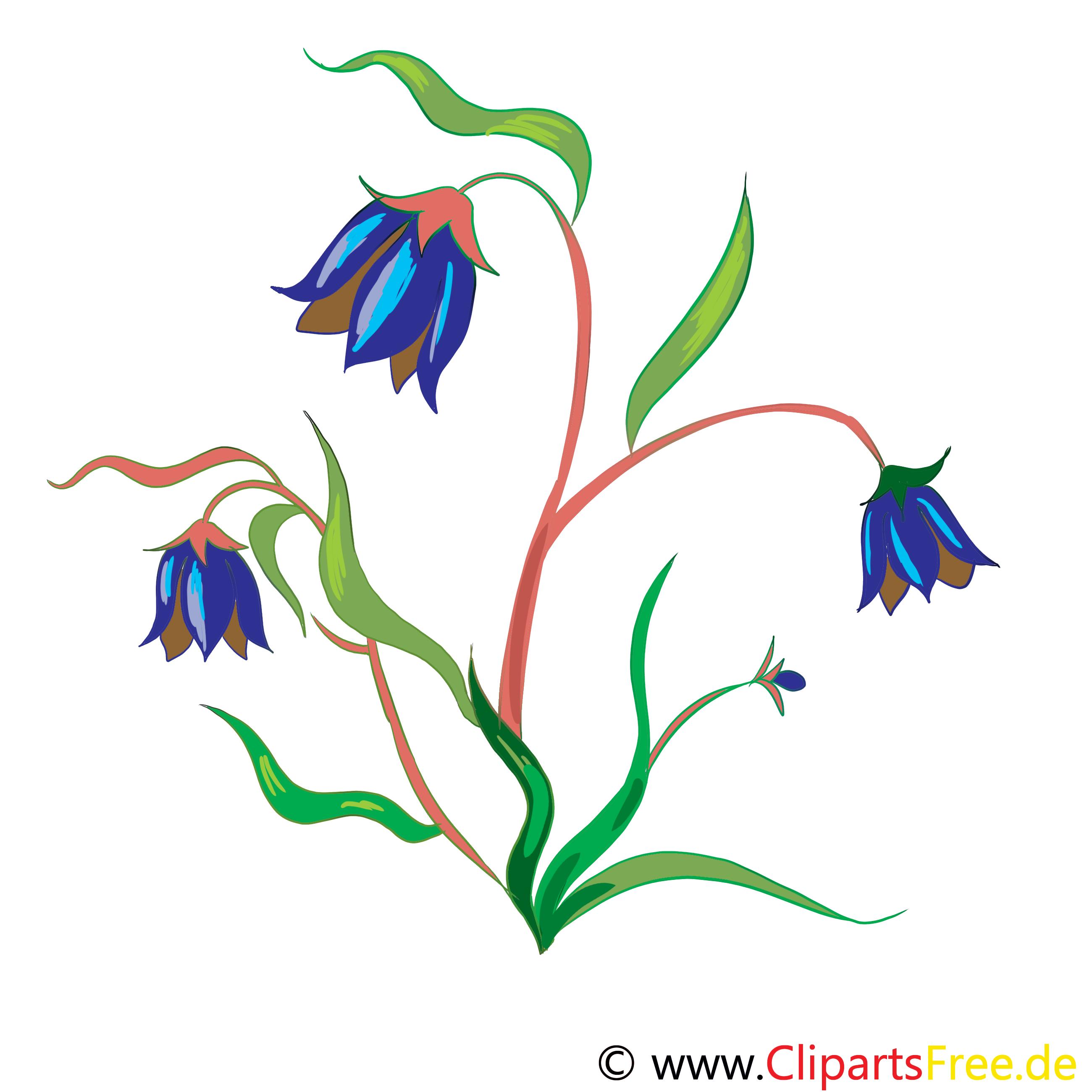 Clochette fleurs image à télécharger gratuite
