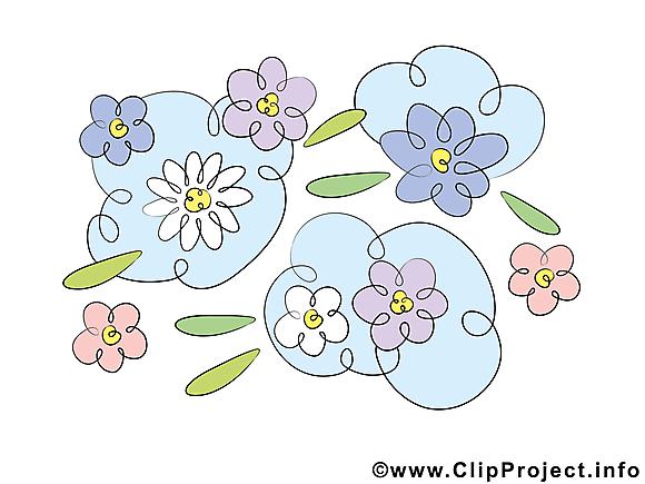 Floraison dessin gratuit – Fleurs image