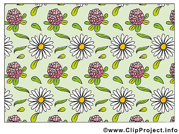 Fonds d'écran clip art gratuit – Fleurs images