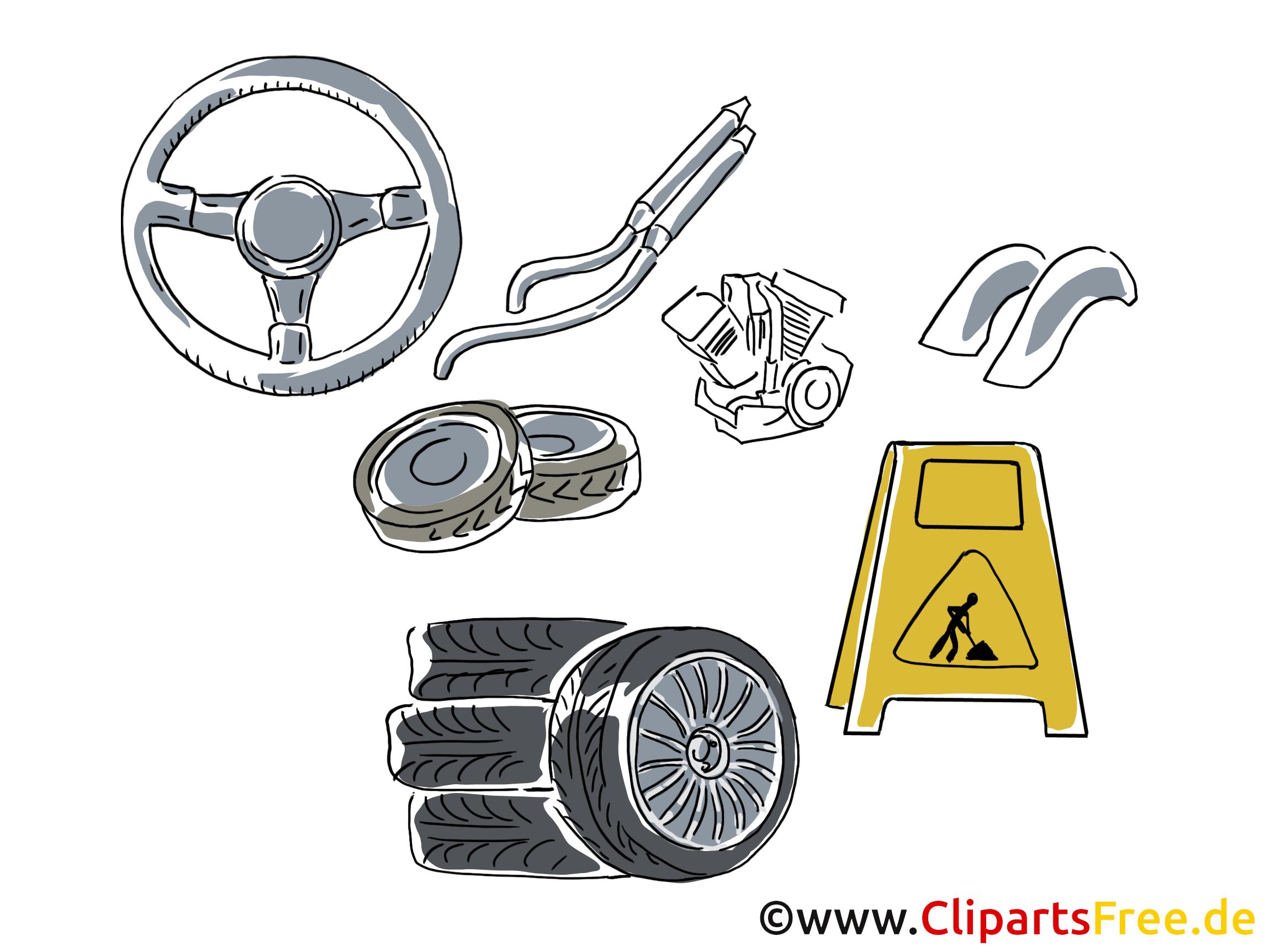 Automobile clip art – Fonds d'écran gratuite