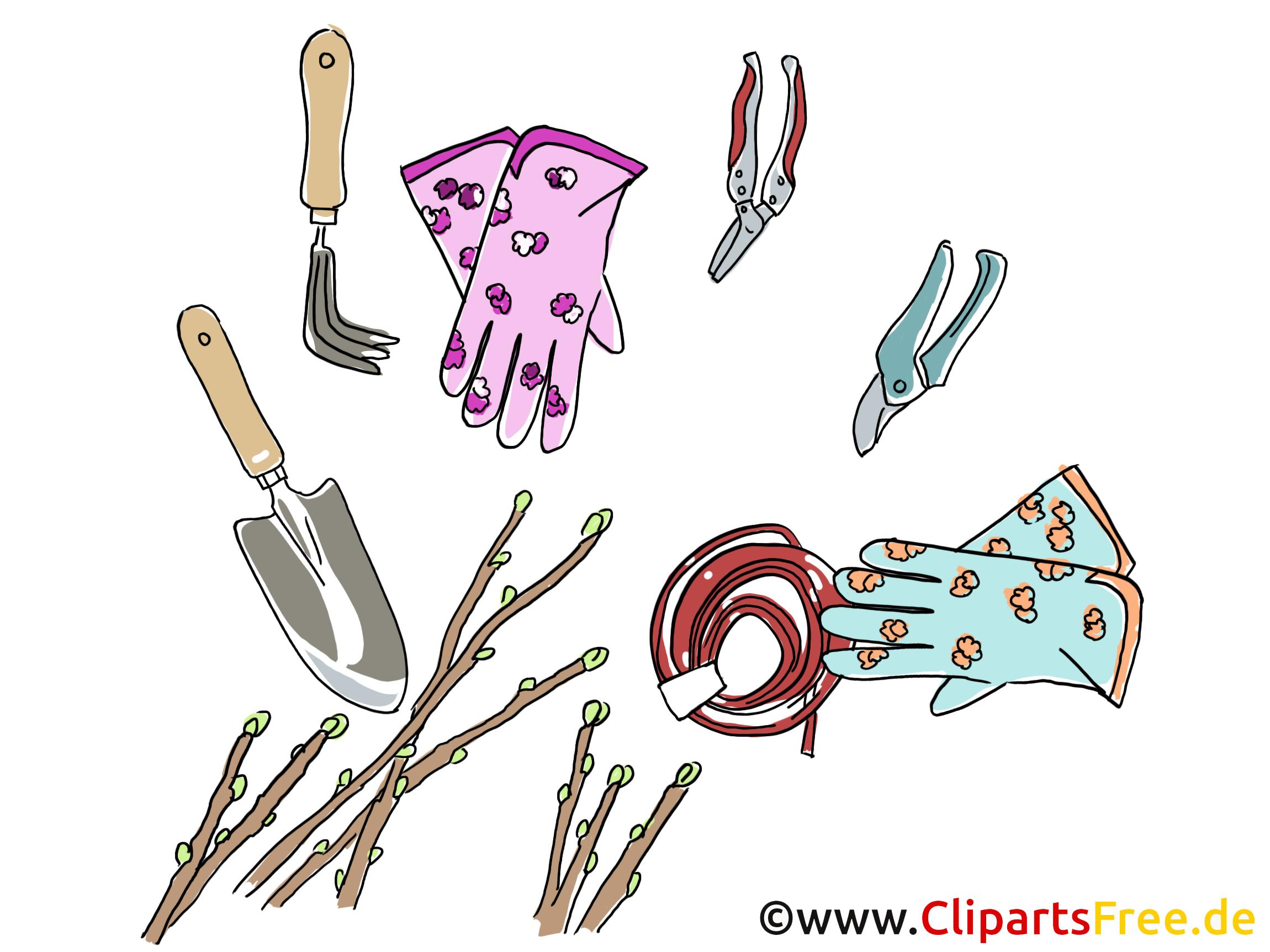 Outils de jardinage fonds d'écran gratuite
