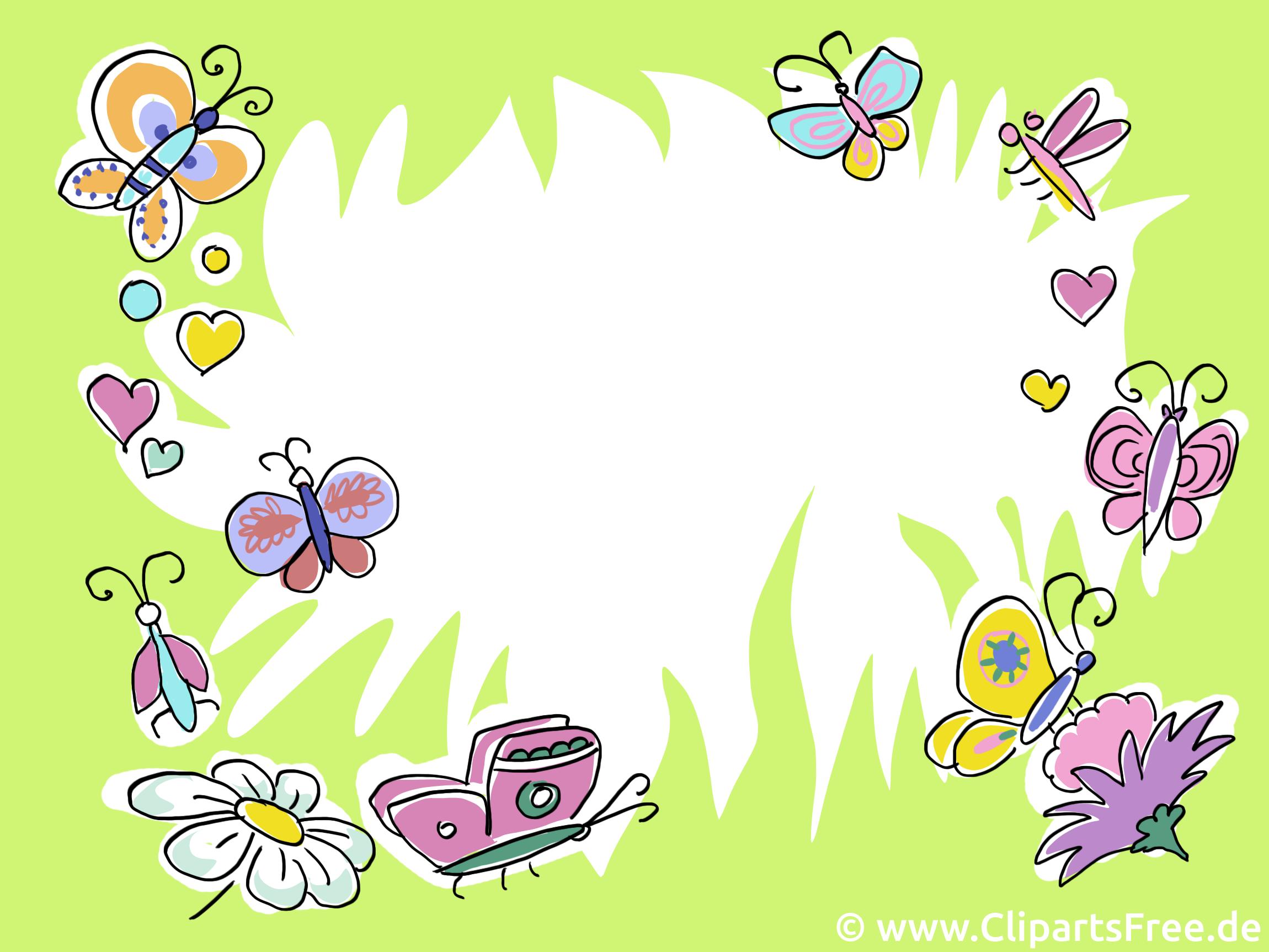 Papillons clipart gratuit - Fonds d'écran images
