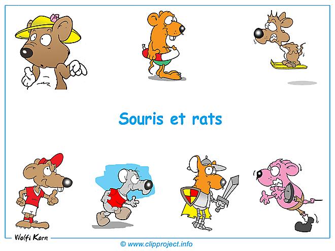 Souris et rats clipart images fond d'écran