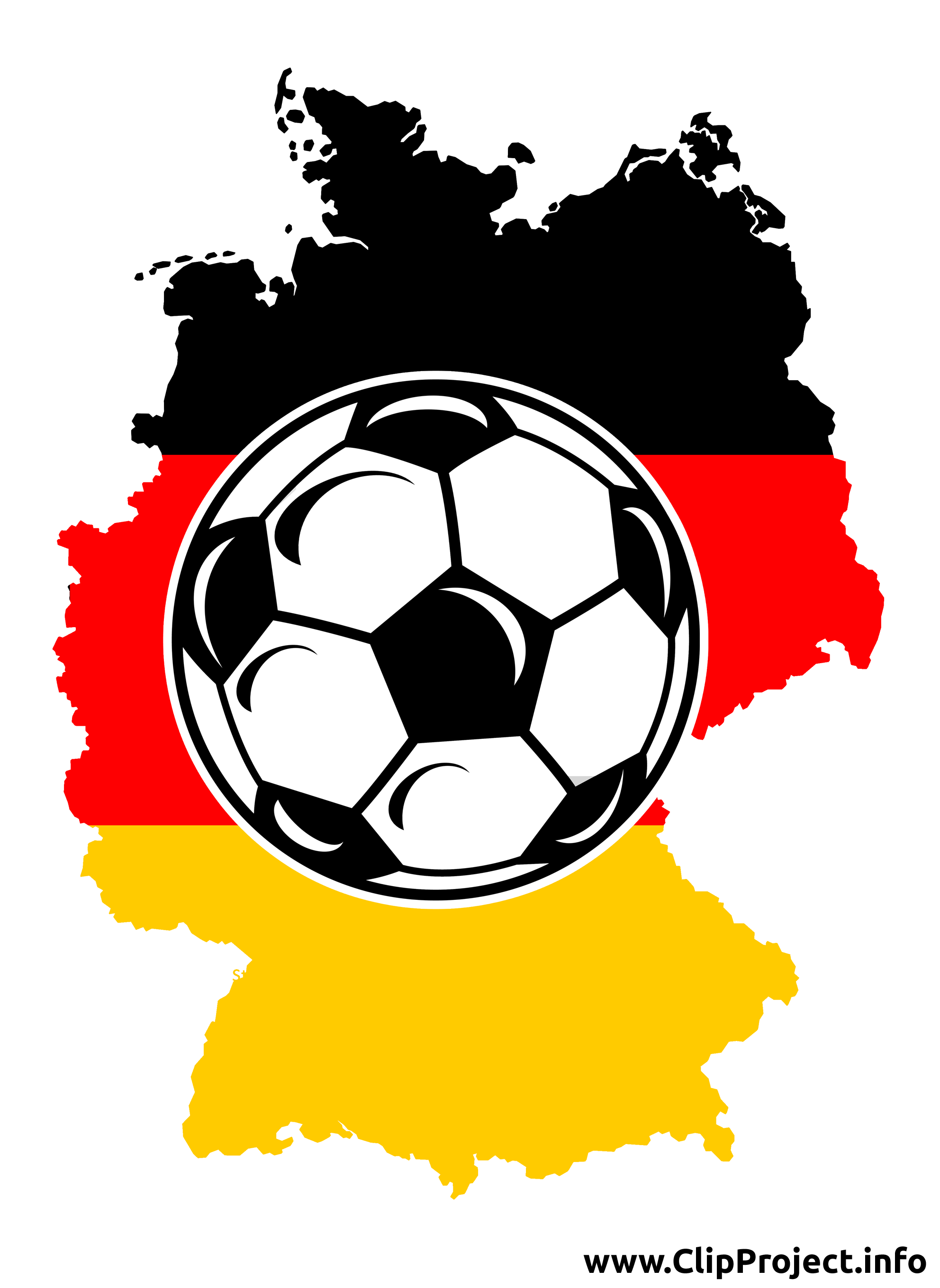 Football image - Allemagne illustration