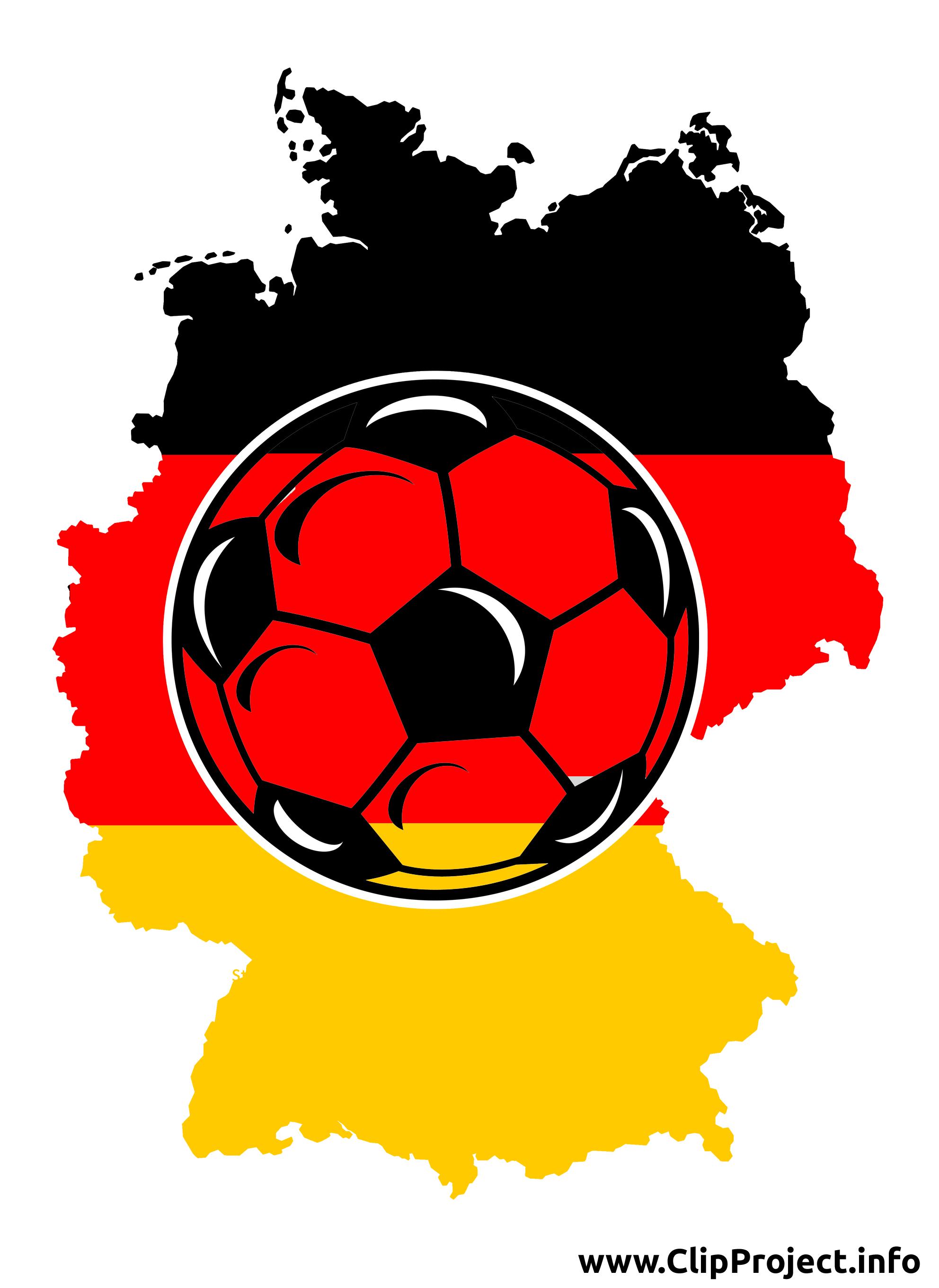 Football clipart - Allemagne images gratuites