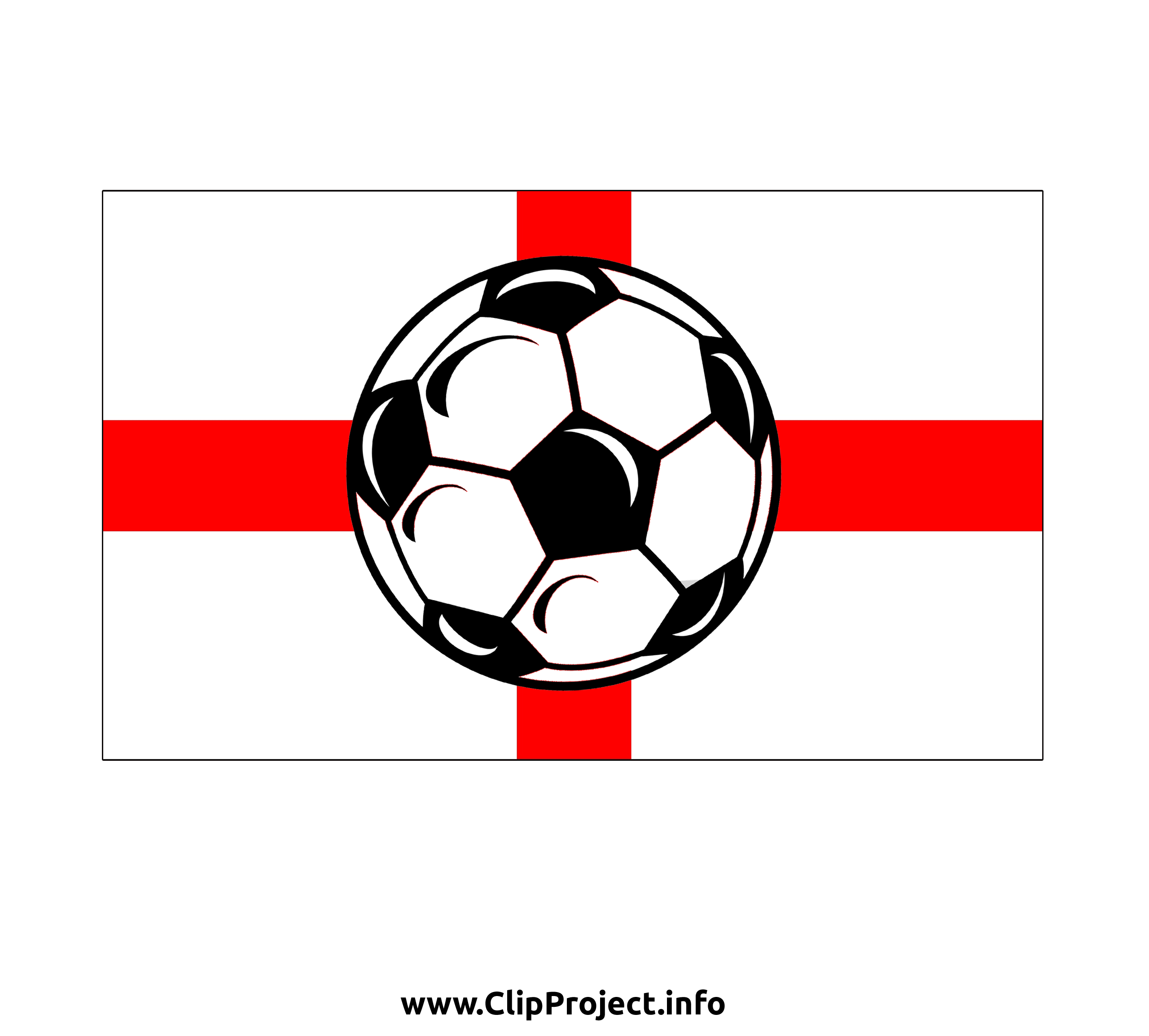 Football image - Angleterre cliparts gratuis