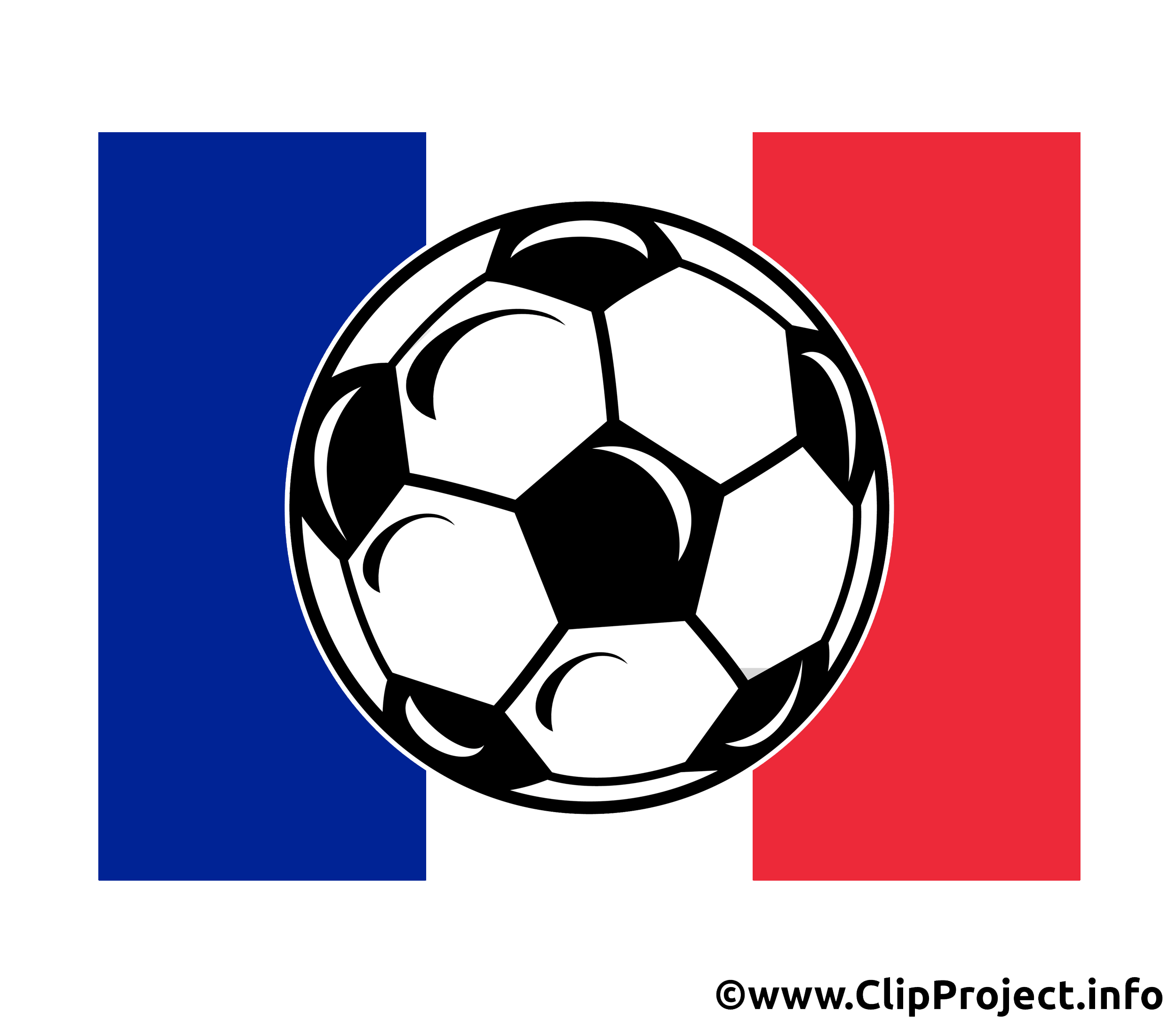 Ballon de foot France clipart gratuit - Football dessin, picture ...
