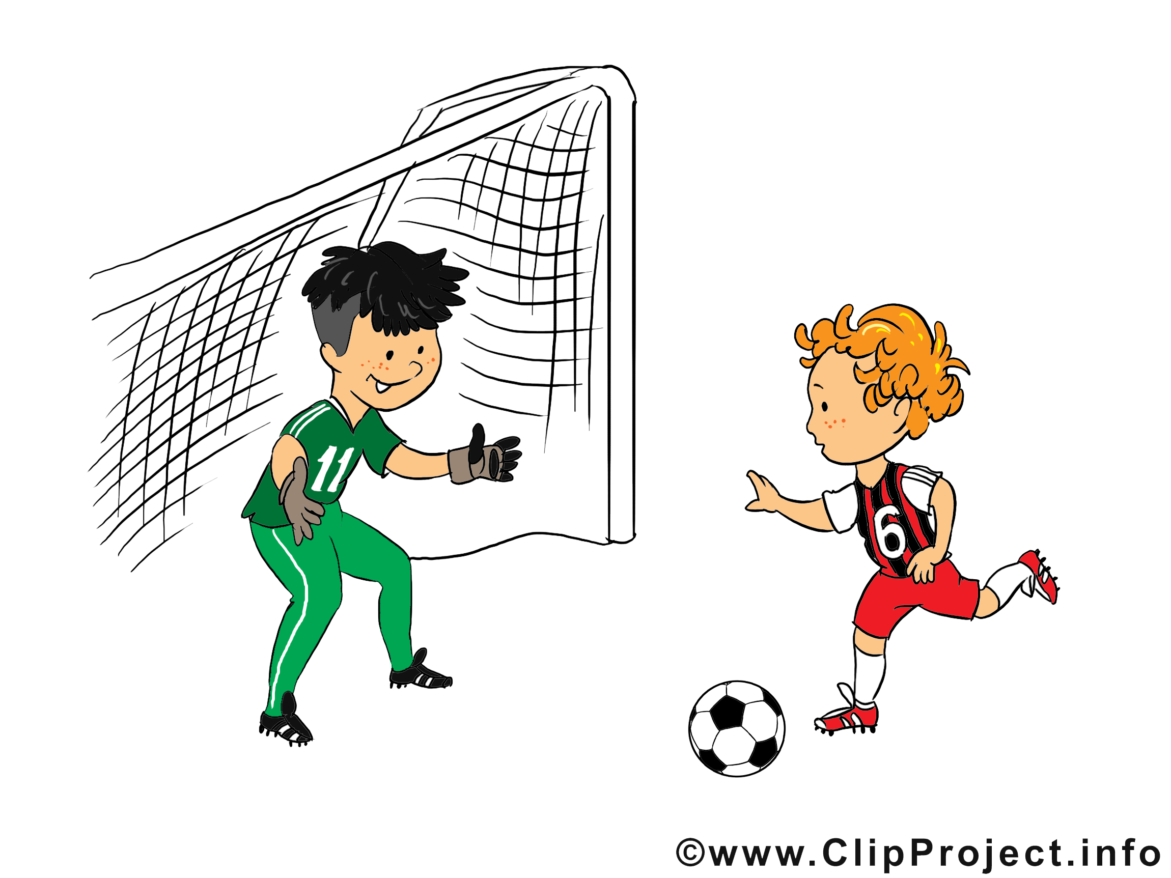But image gratuite – Football clipart
