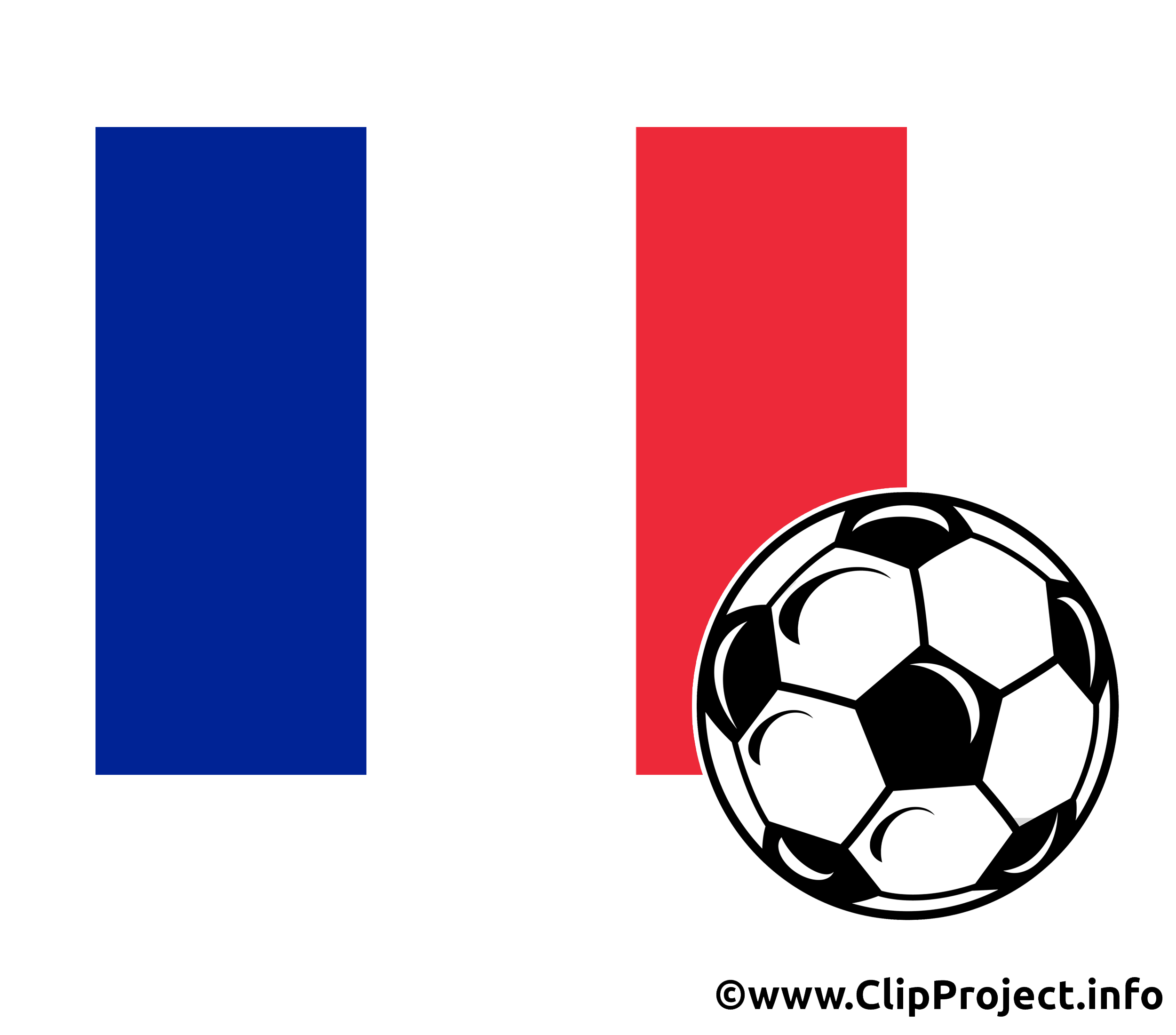 Clipart Football France