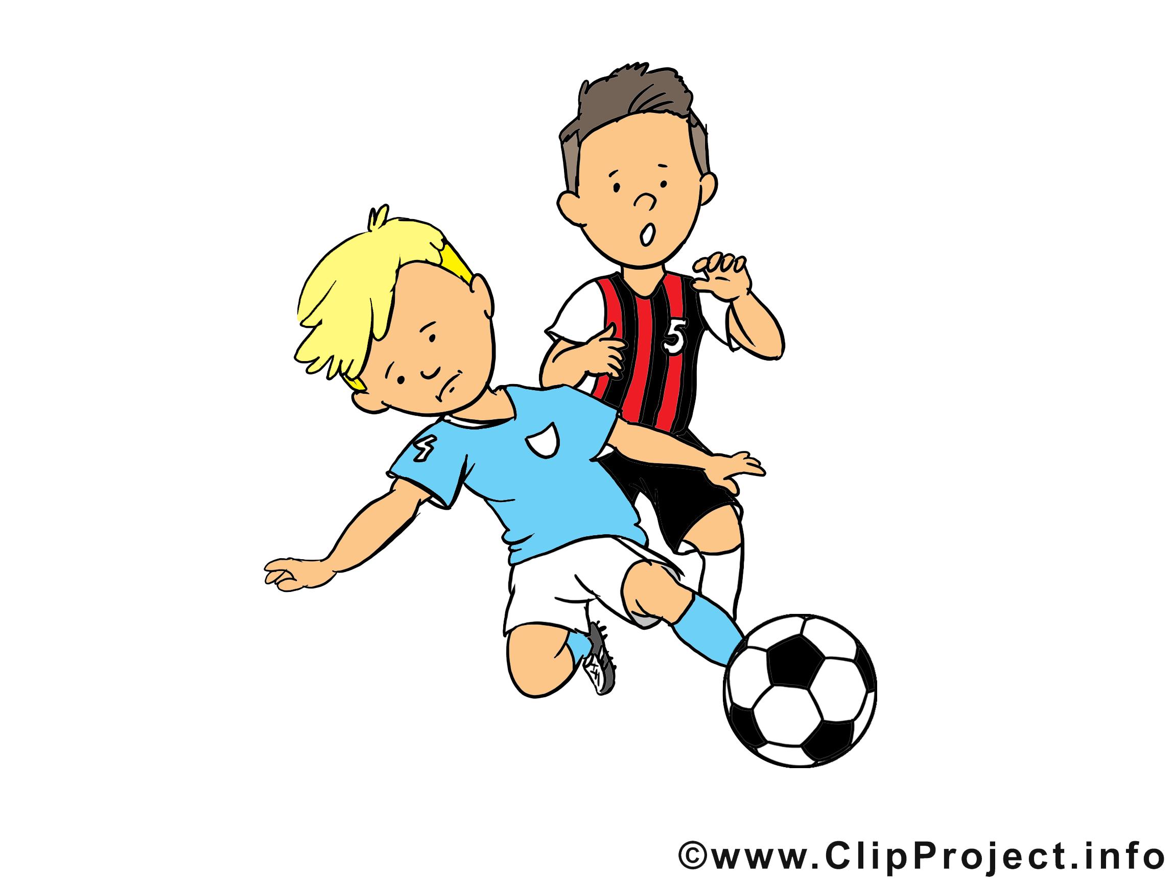 Coup image à télécharger - Football clipart